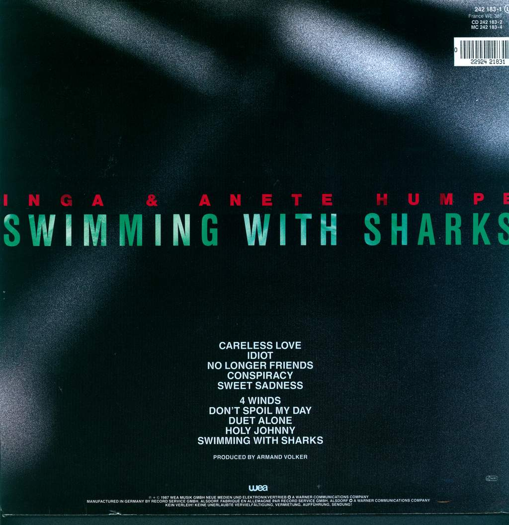 Humpe Humpe: Swimming With Sharks, LP (Vinyl)