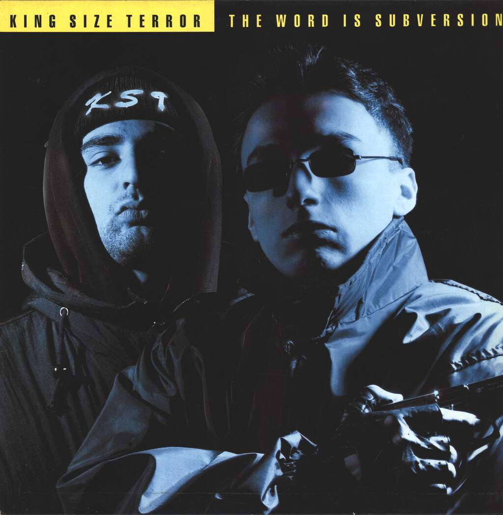King Size Terror: The Word Is Subversion, LP (Vinyl)