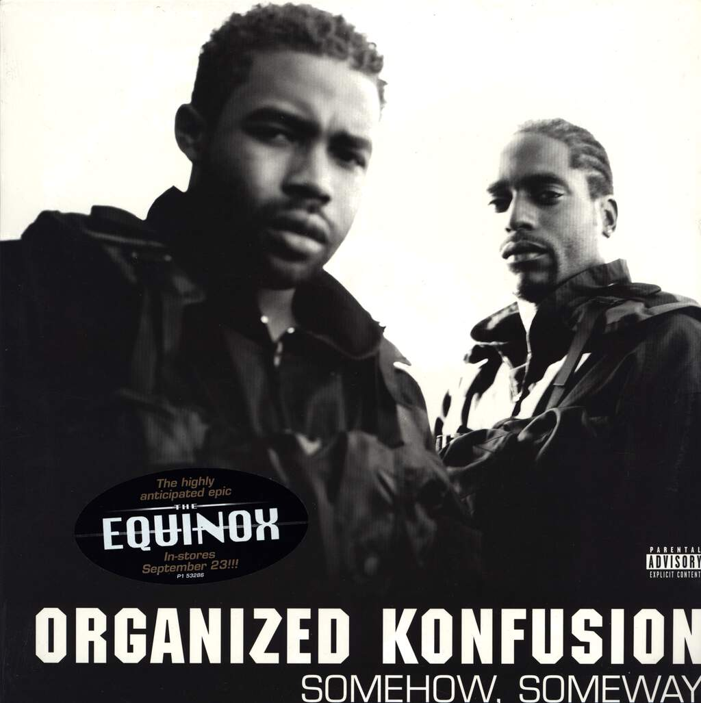"Organized Konfusion: Somehow, Someway, 12"" Maxi Single (Vinyl)"