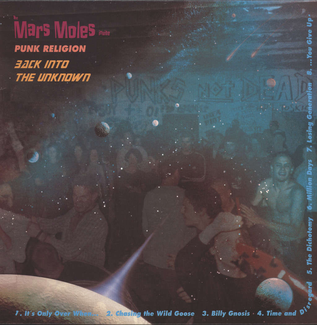 Mars Moles: Punk Religion-Back Into The Unknown, LP (Vinyl)
