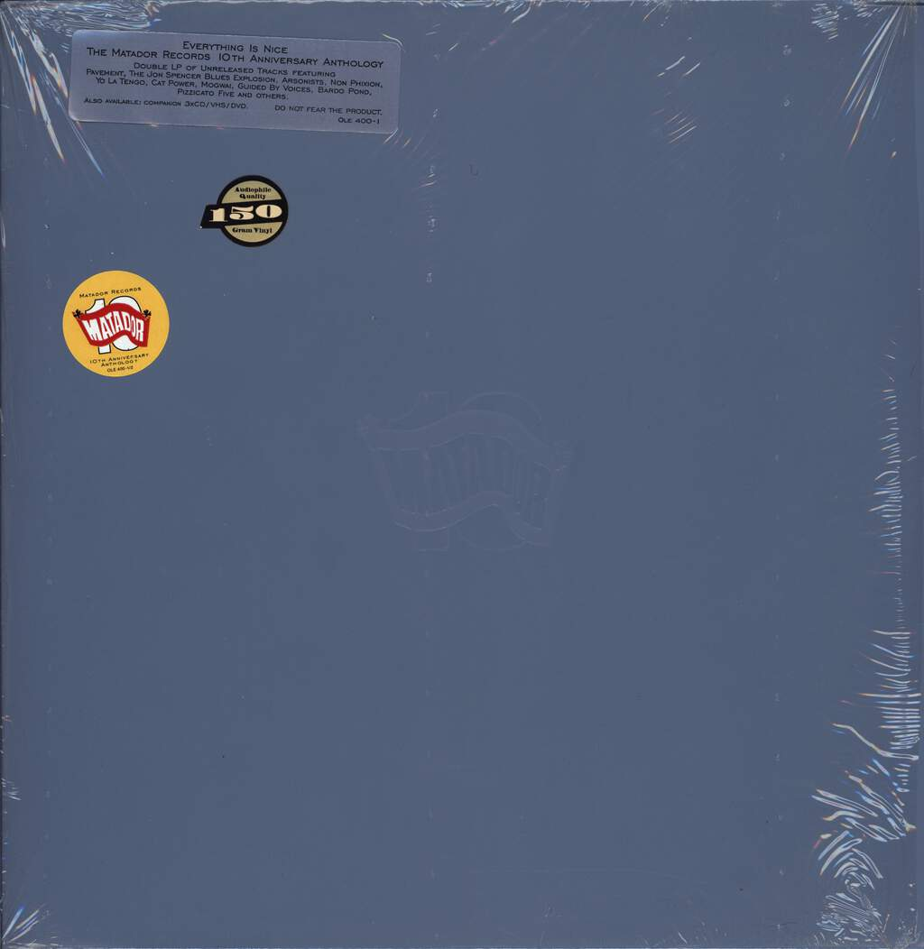 Various: Everything Is Nice - The Matador Records 10th Anniversary Anthology, LP (Vinyl)