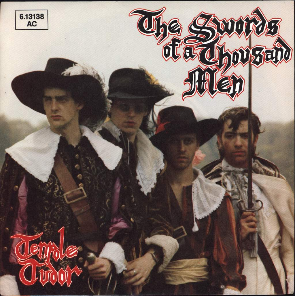 "Tenpole Tudor: The Swords Of A Thousand Men, 7"" Single (Vinyl)"