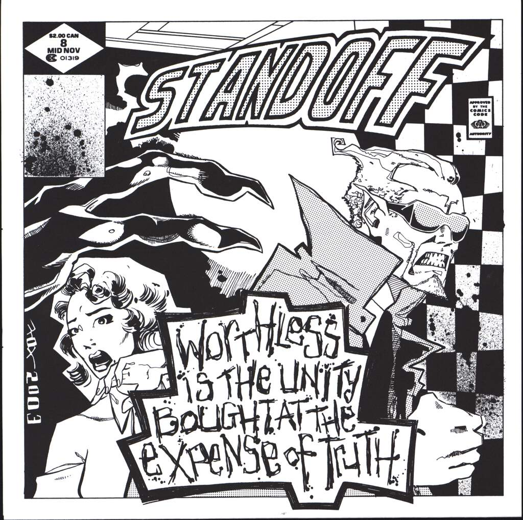 "Stand Off: Worthless Is The Unity Bought At The Expense Of Truth, 7"" Single (Vinyl)"