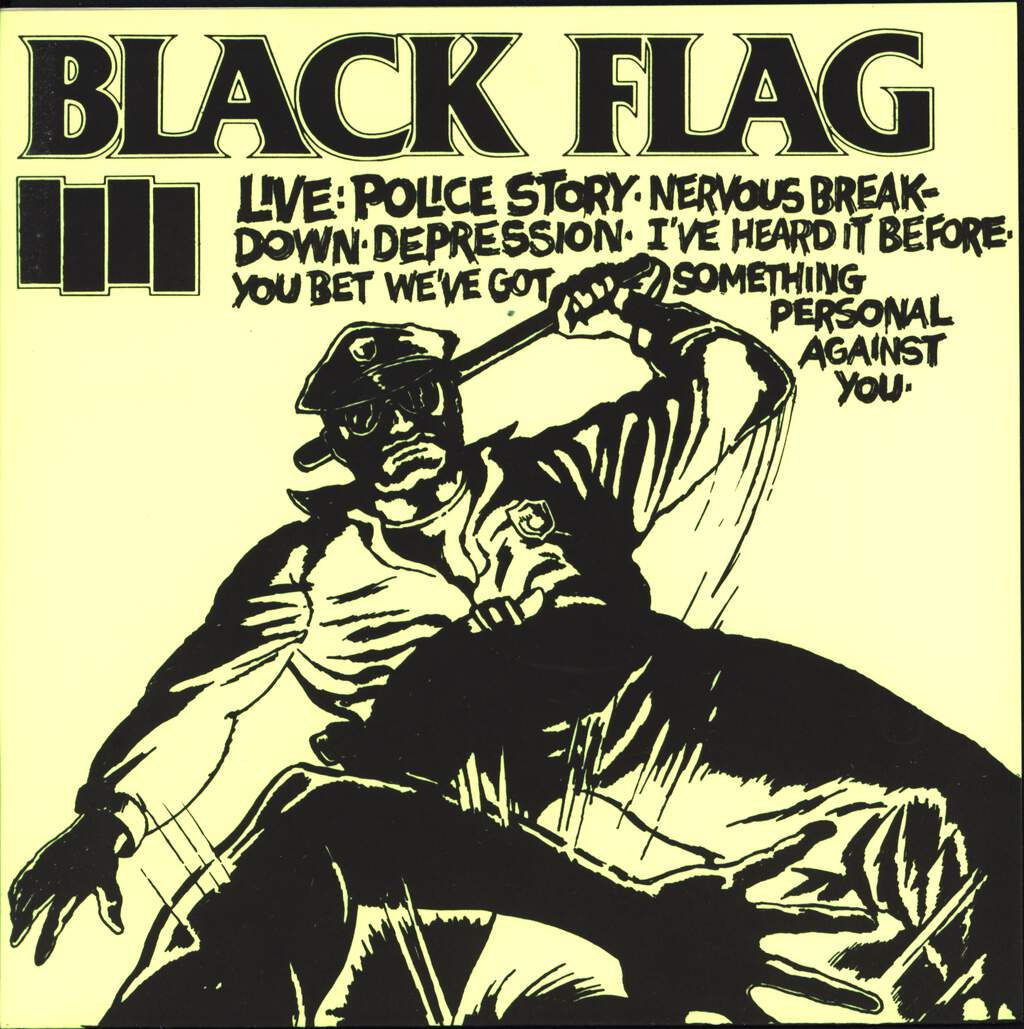 "Black Flag: Live #2, 7"" Single (Vinyl)"