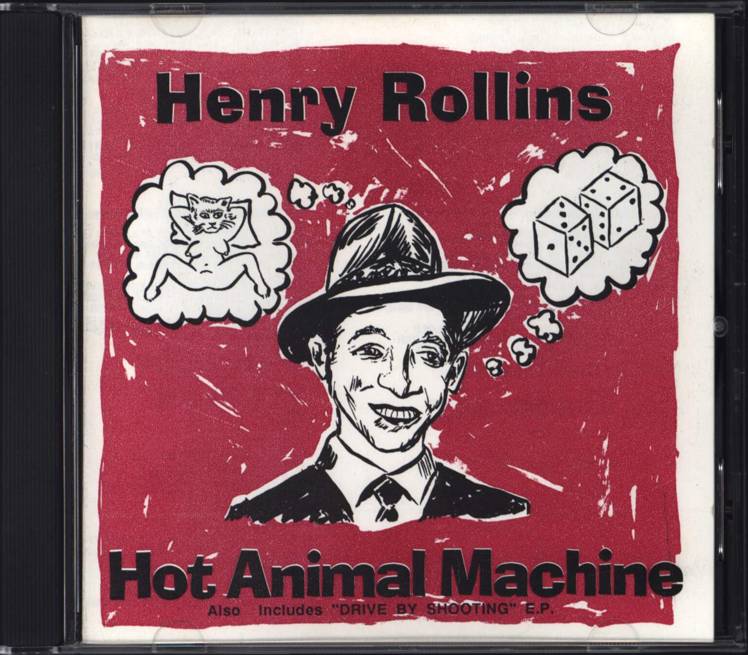 Henry Rollins: Hot Animal Machine... Plus, CD