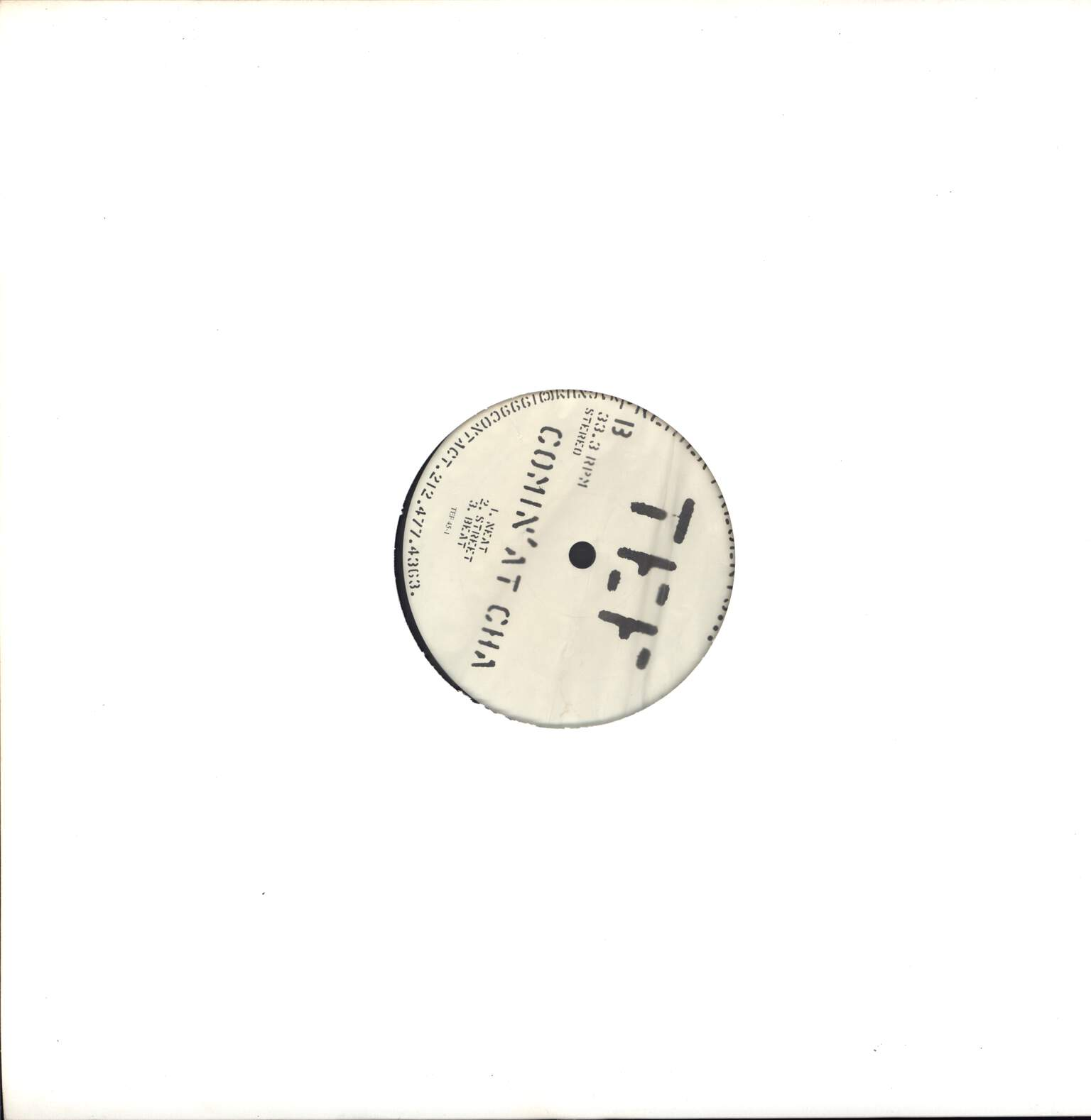 "Teflon: Premier Presents...: F-U / Comin' At Cha, 12"" Maxi Single (Vinyl)"