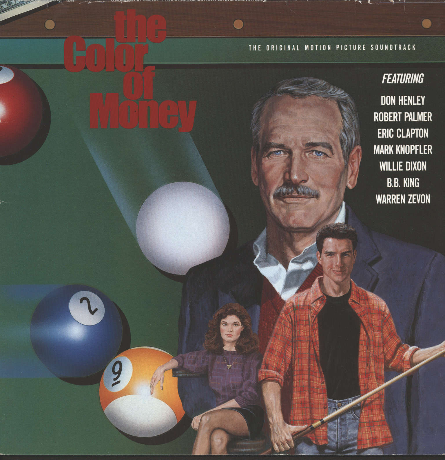 "Various: ""The Color Of Money"" - The Original Motion Picture Soundtrack, LP (Vinyl)"