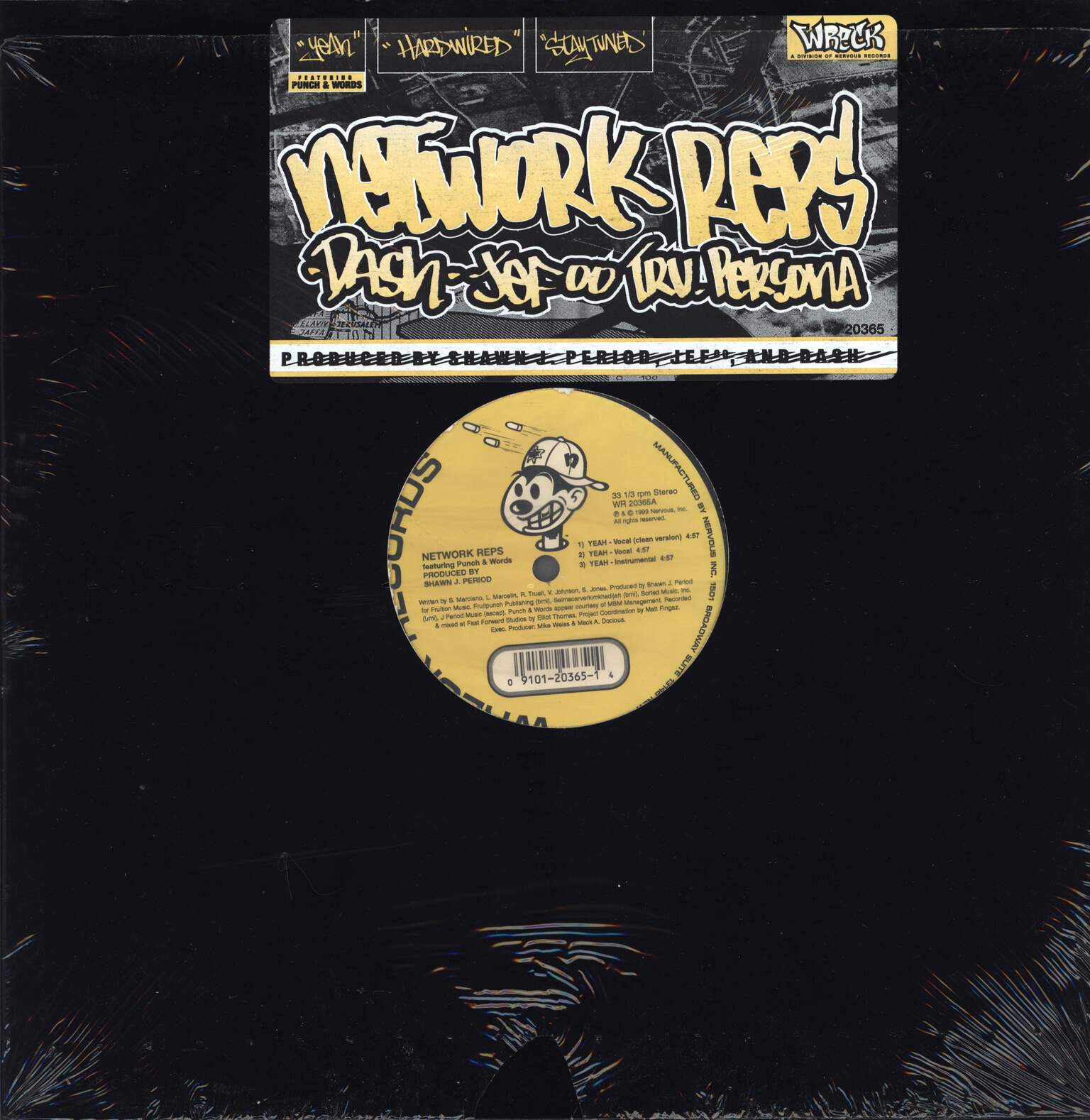 "Network Reps: Yeah / Stay Tuned / Hardwired, 12"" Maxi Single (Vinyl)"