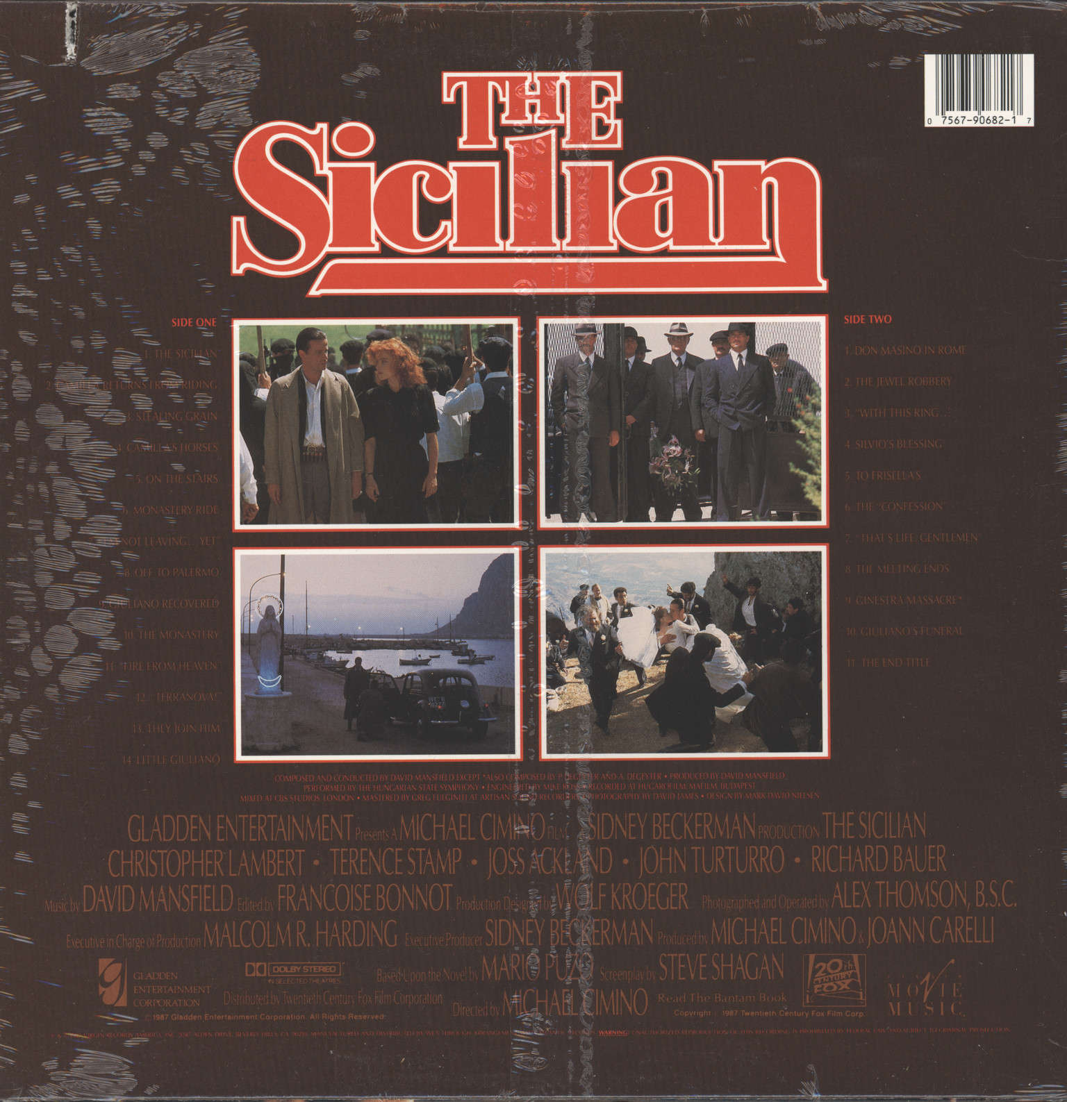 David Mansfield: The Sicilian (Original Motion Picture Soundtrack), LP (Vinyl)