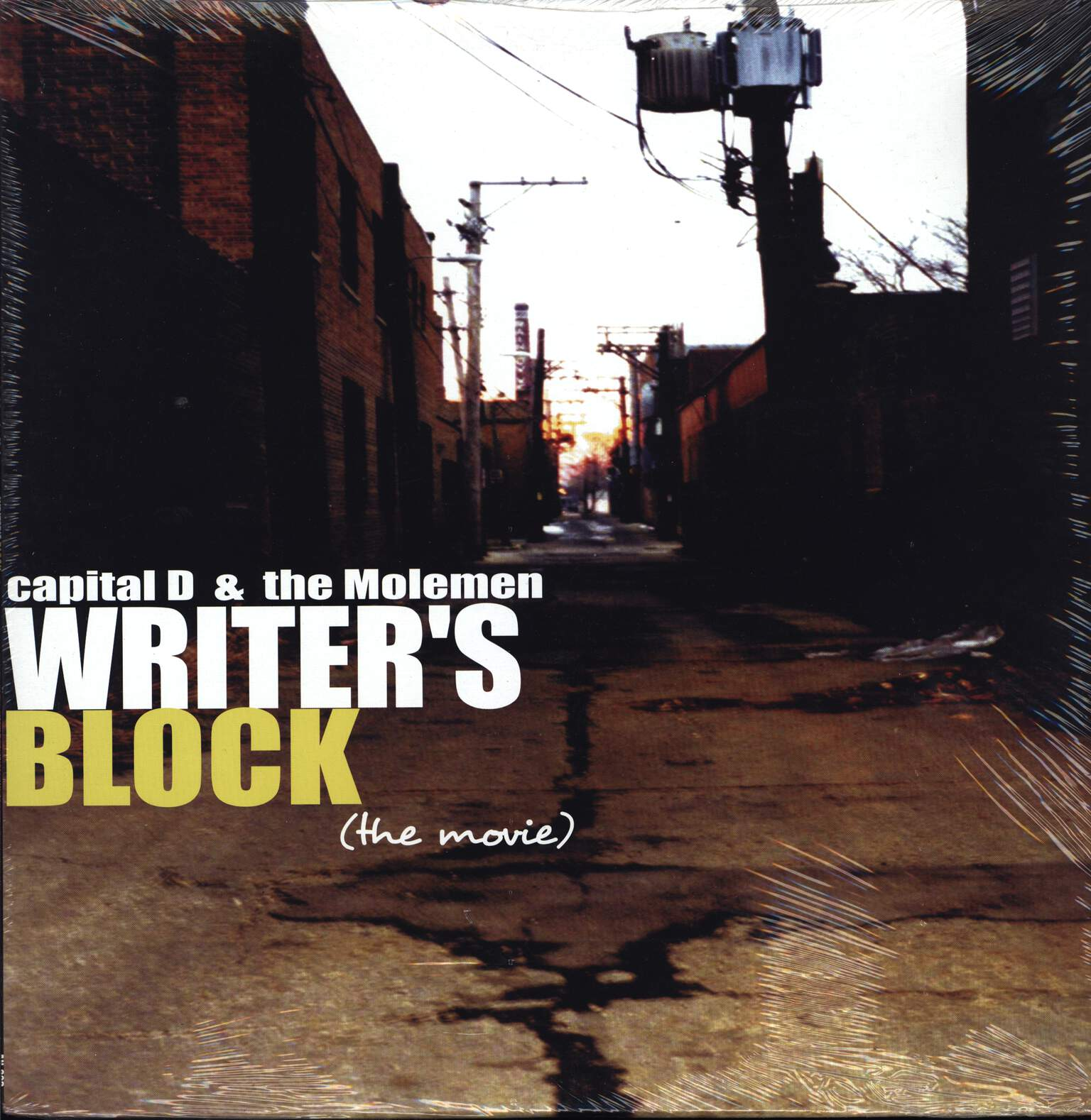 Capital D: Writer's Block (The Movie), LP (Vinyl)