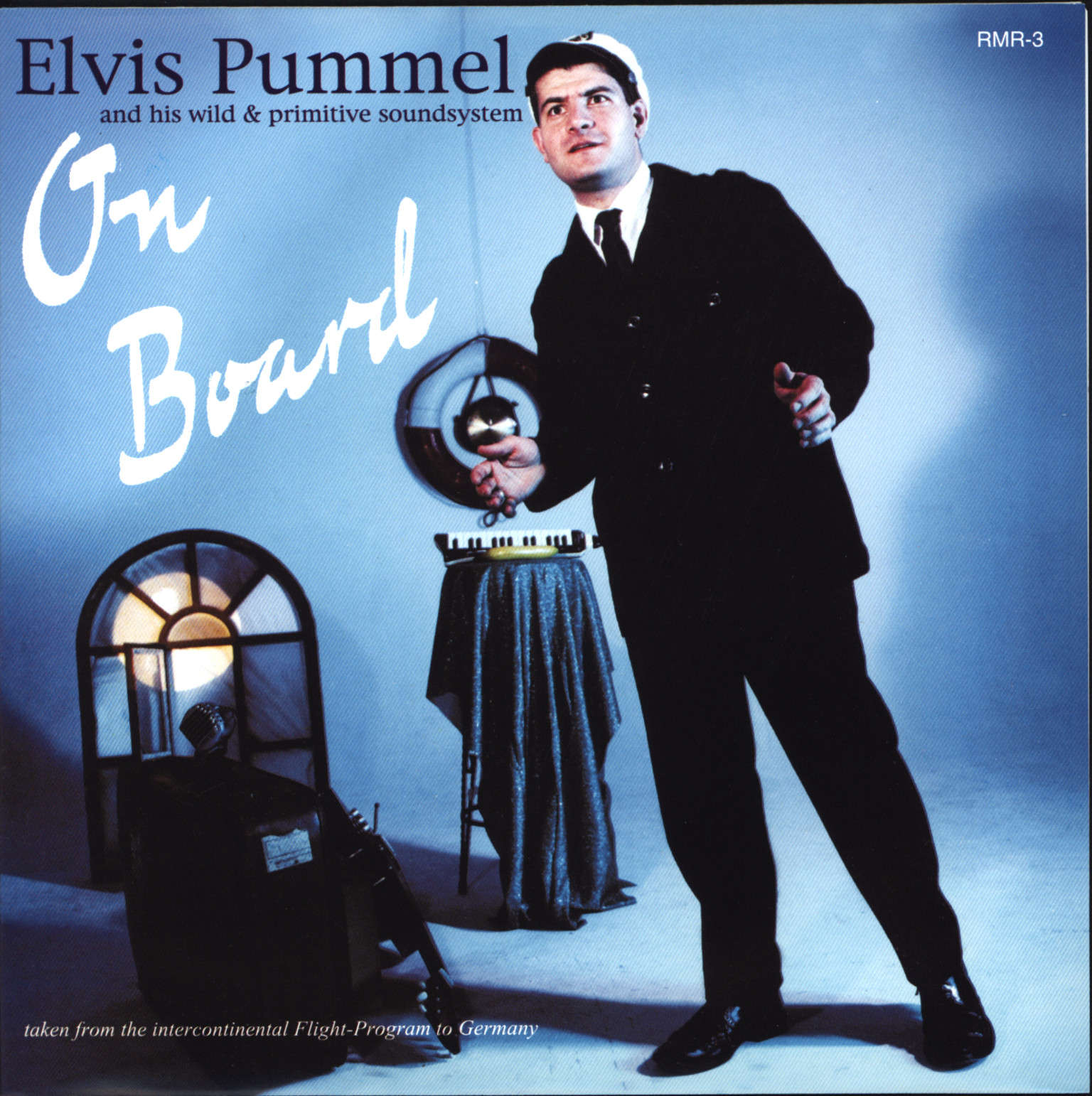 "Elvis Pummel: On Board (And His Wild & Primitive Soundsystem), 7"" Single (Vinyl)"