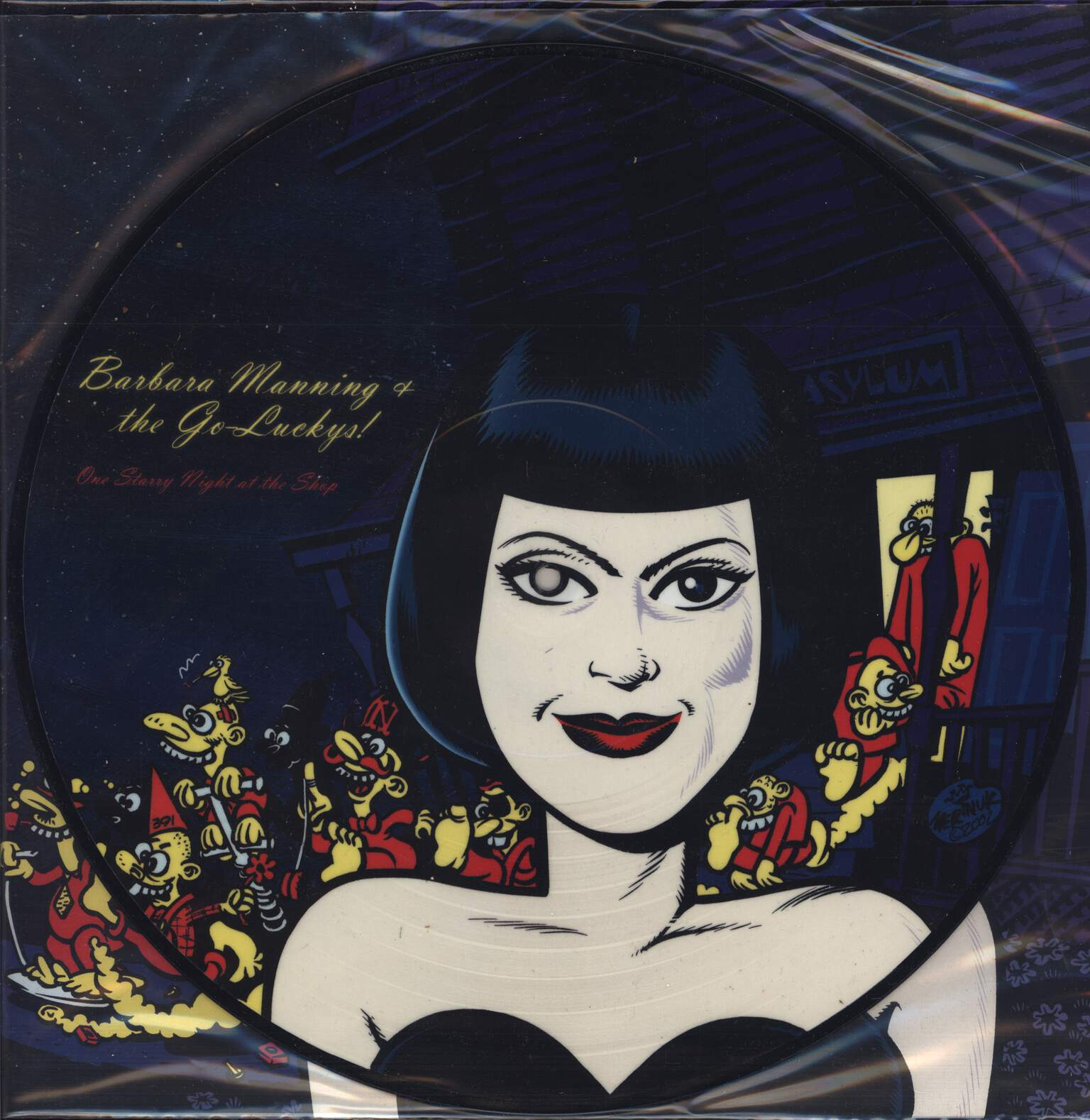 Barbara Manning & The Go-Luckys!: One Starry Night At The Shop, LP (Vinyl)