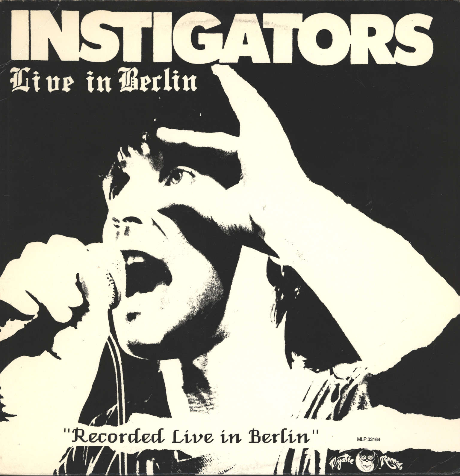 Instigators: Live In Berlin, LP (Vinyl)