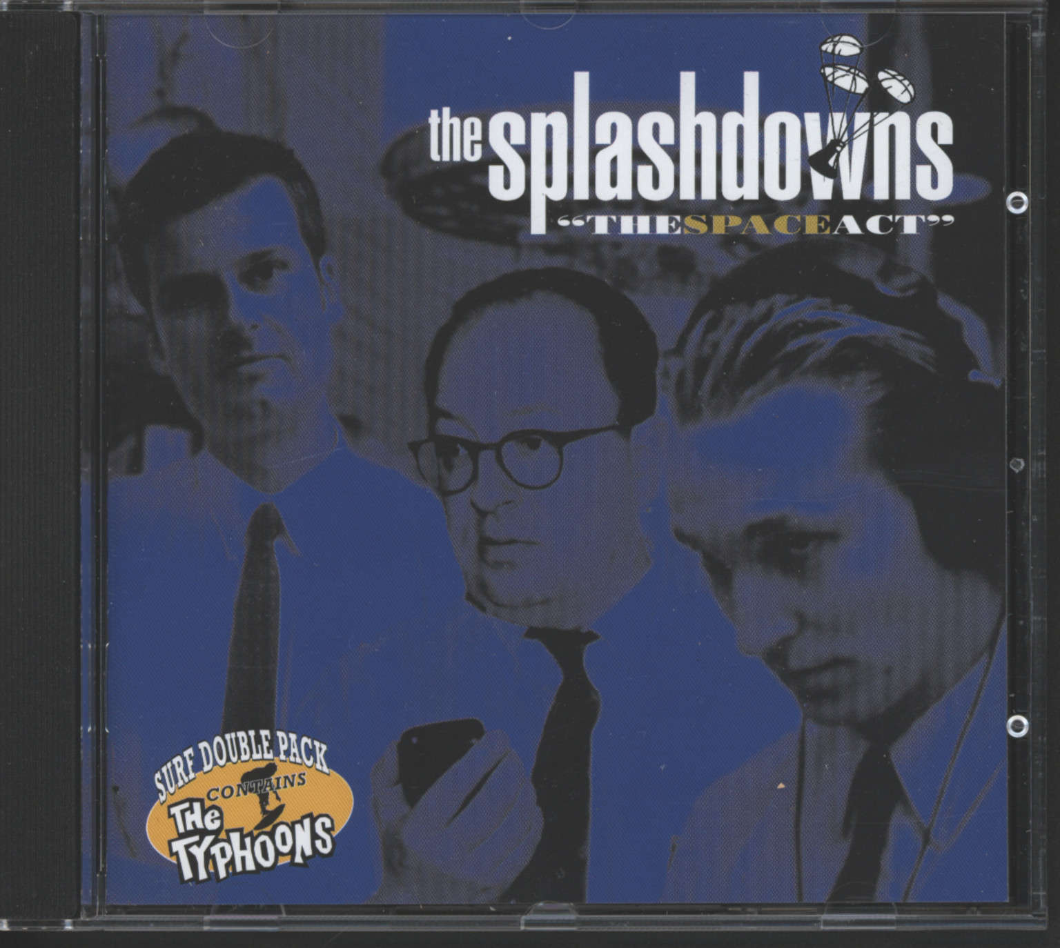 Splashdowns: The Spaceact / 10 Raunchy Instrumentals, CD