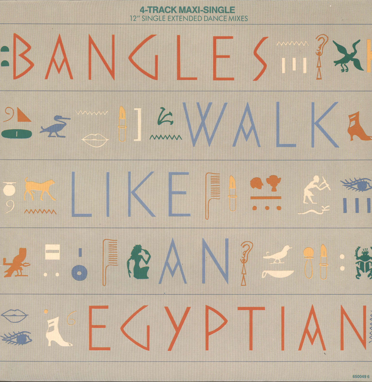 "Bangles: Walk Like An Egyptian, 12"" Maxi Single (Vinyl)"