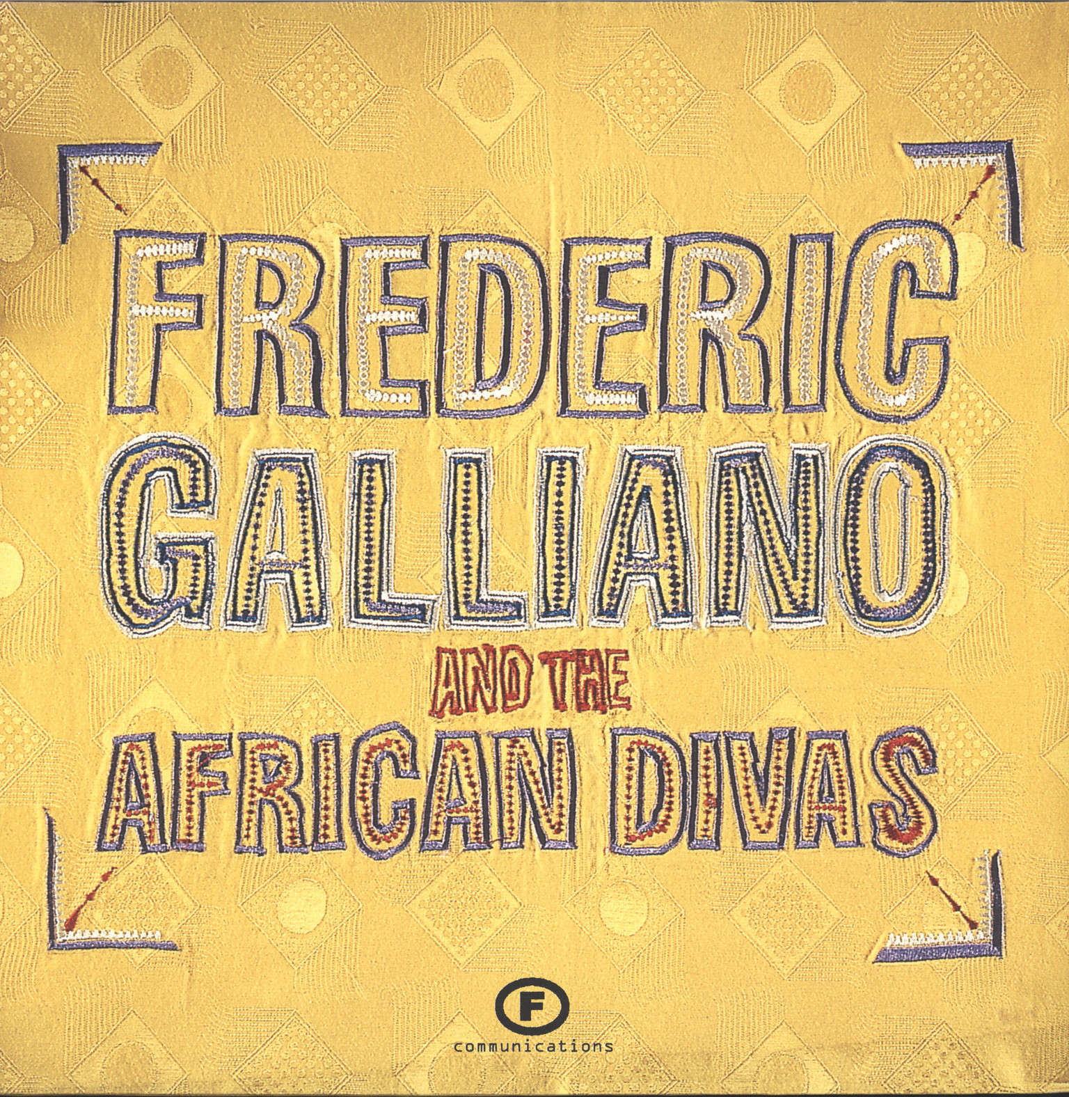Frederic Galliano And The African Divas: Frederic Galliano And The African Divas, LP (Vinyl)