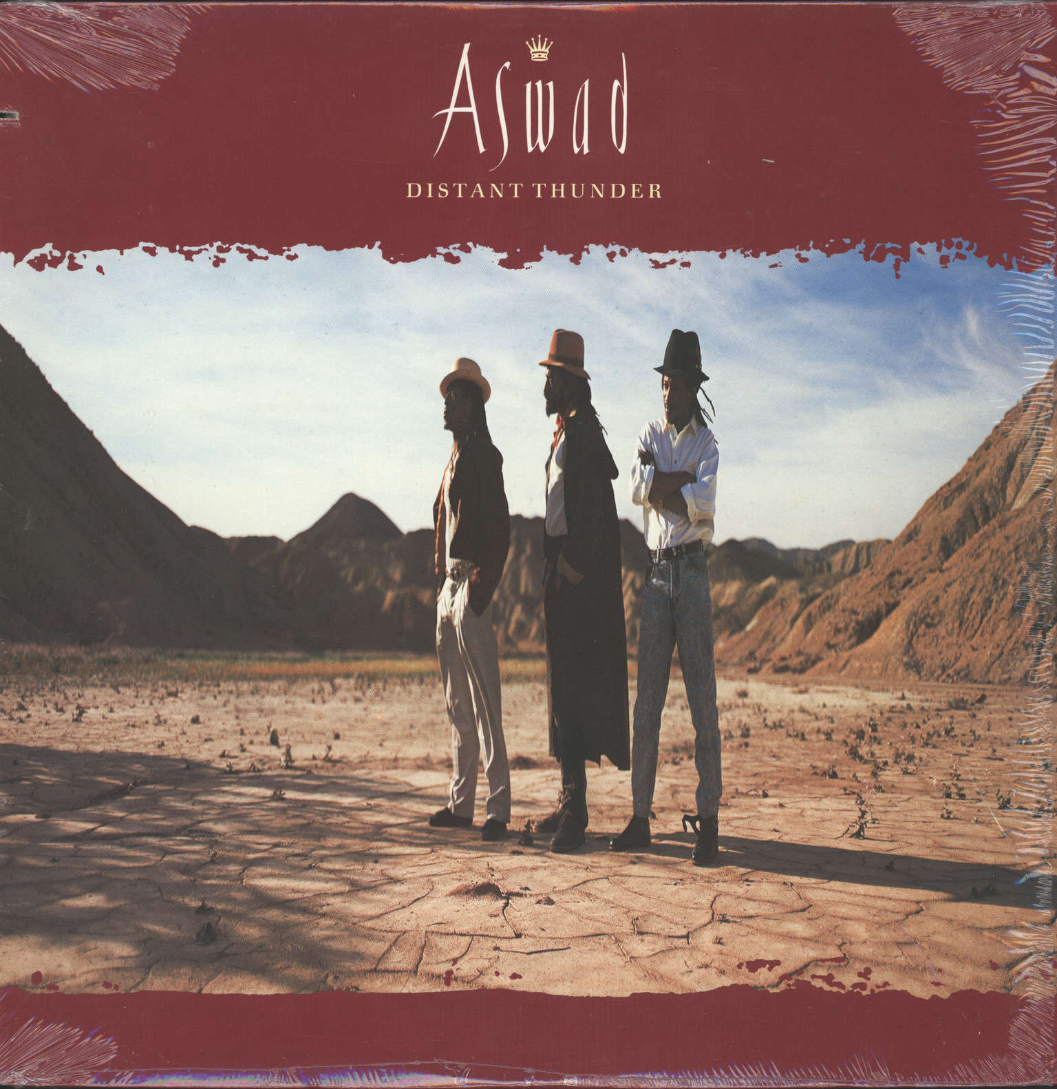 Aswad: Distant Thunder, LP (Vinyl)