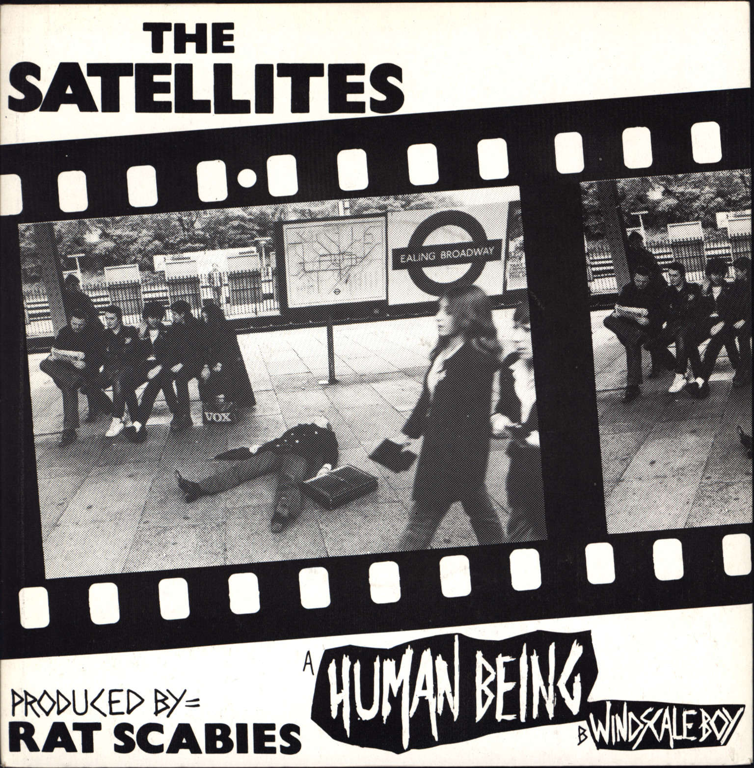 "The Satellites: Human Being / Windscale Boy, 7"" Single (Vinyl)"