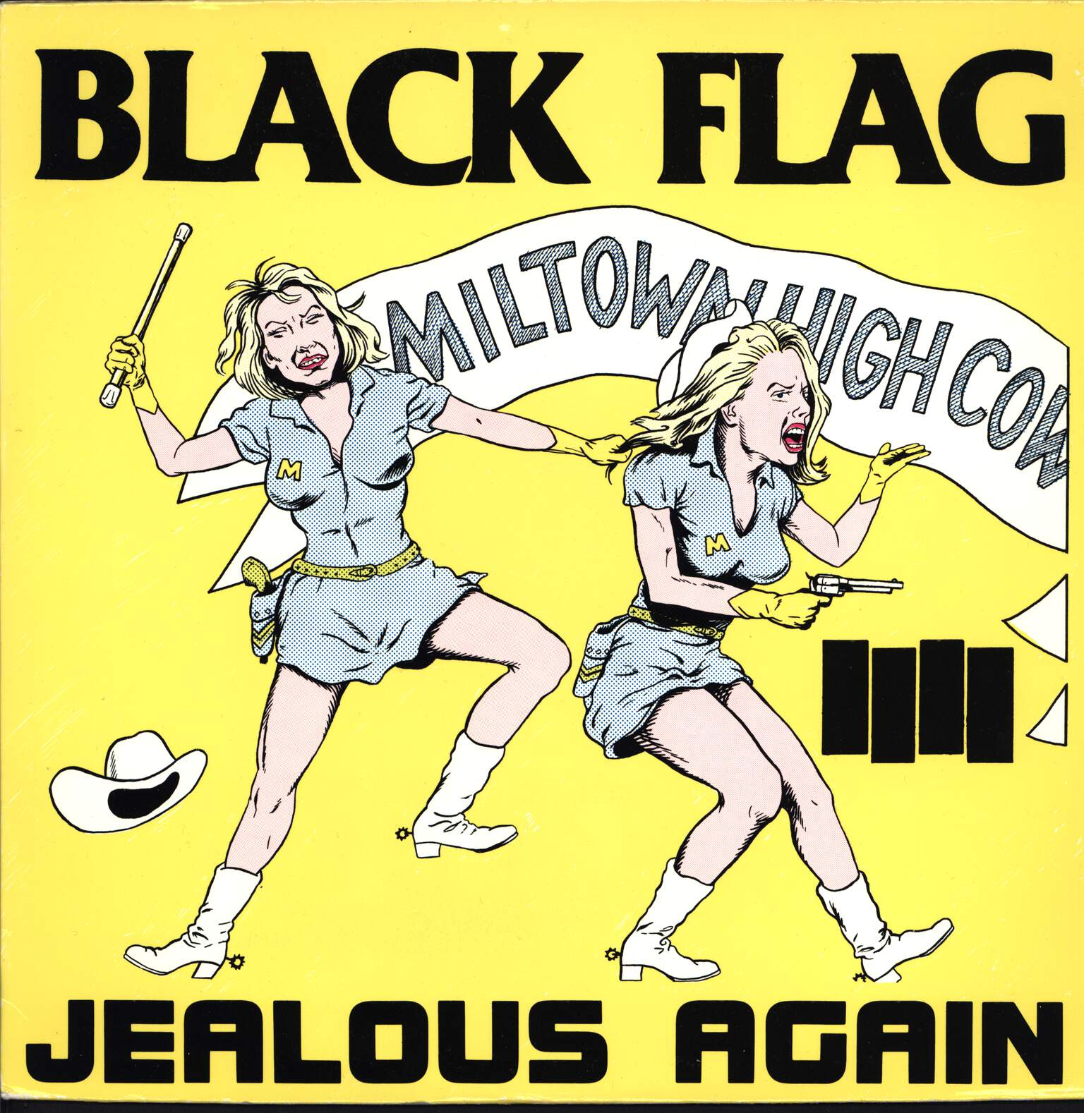 "Black Flag: Jealous Again, 12"" Maxi Single (Vinyl)"