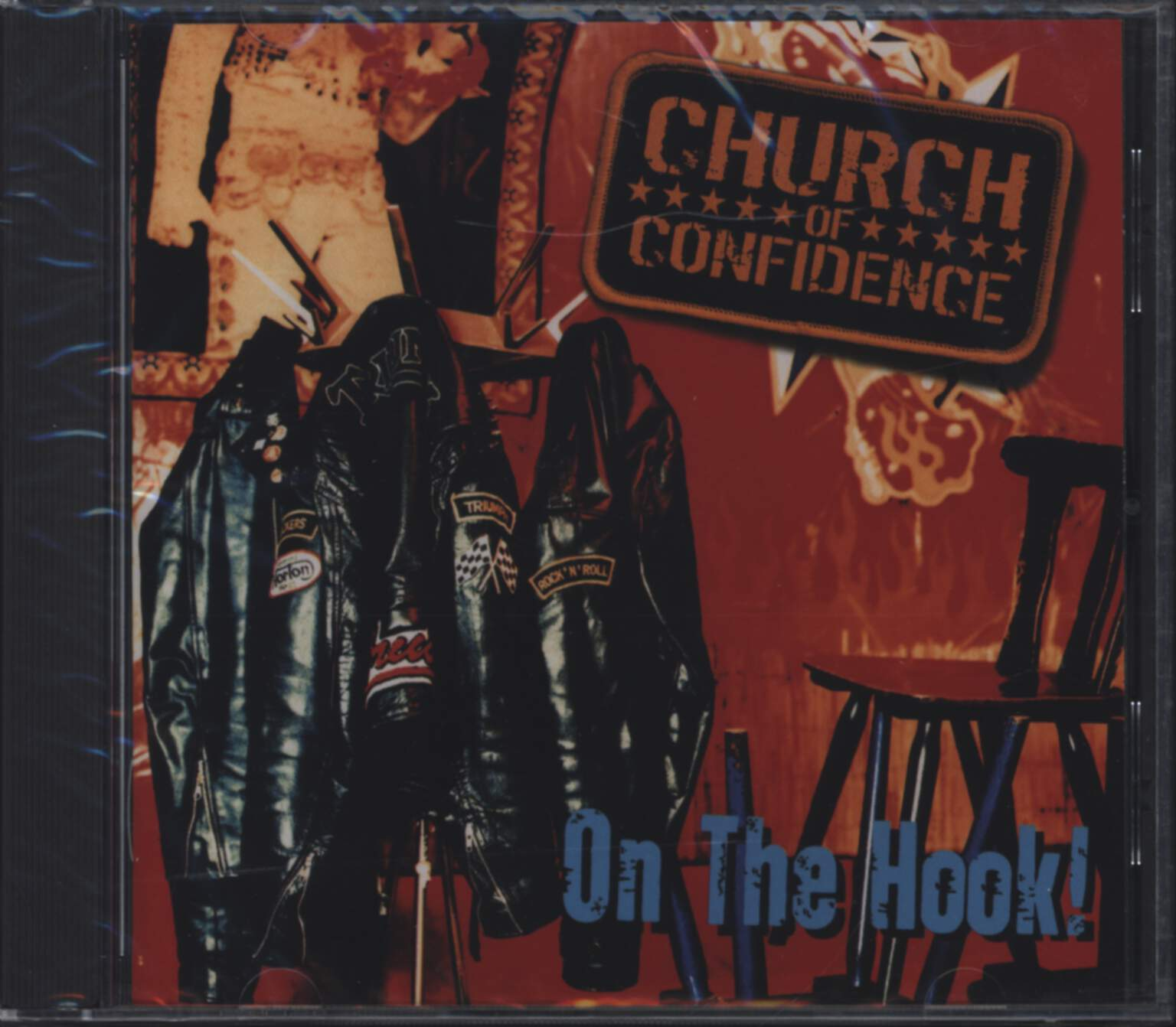 Church Of Confidence: On The Hook, CD