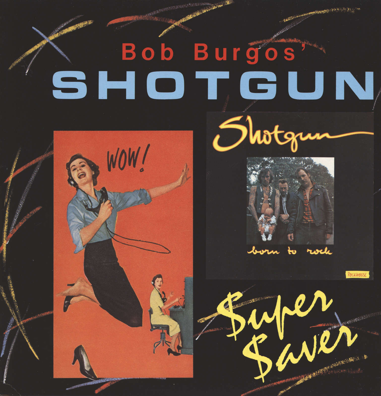 Shotgun: Born To Rock, LP (Vinyl)