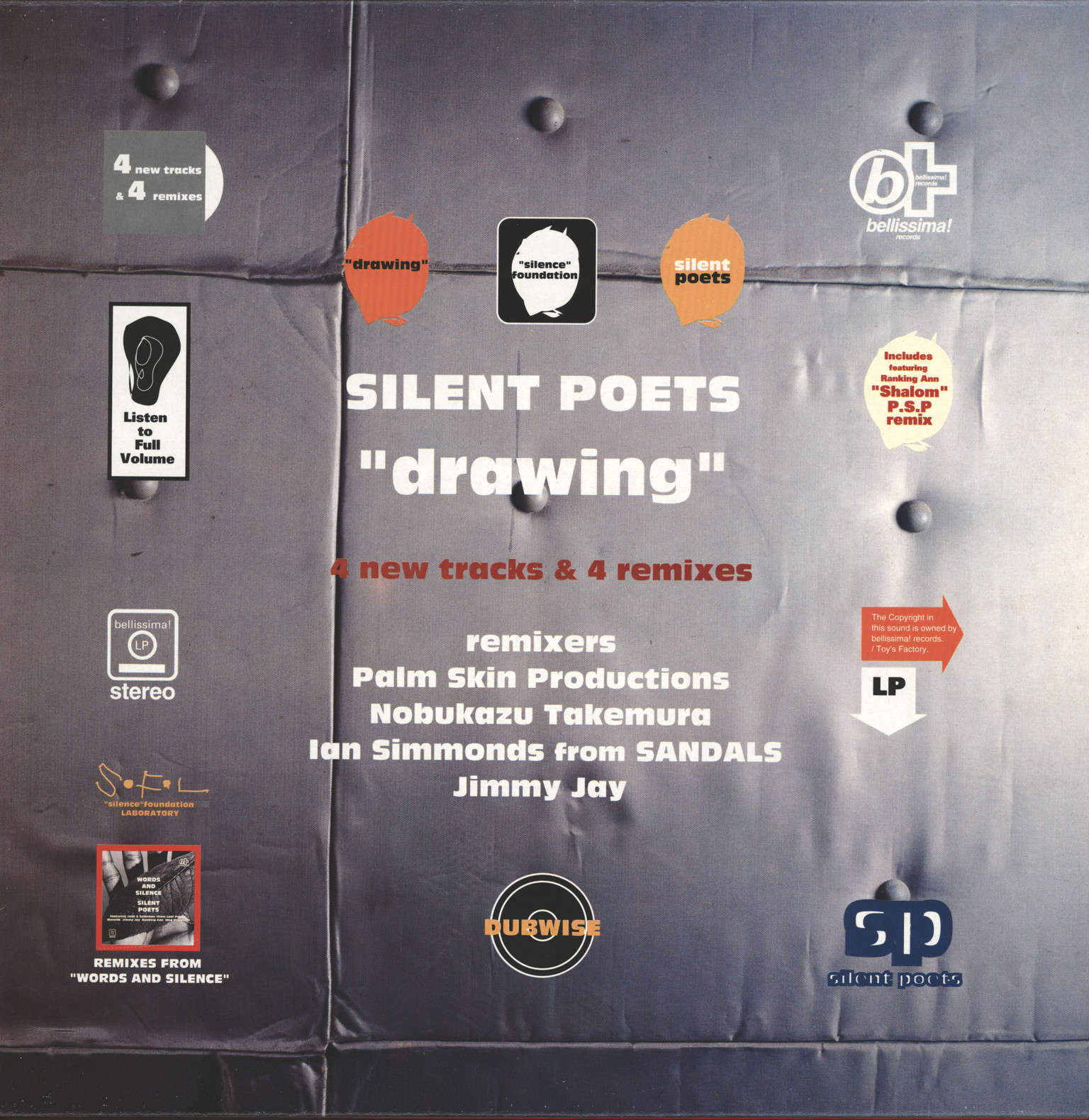 Silent Poets: Drawing, Mini LP (Vinyl)