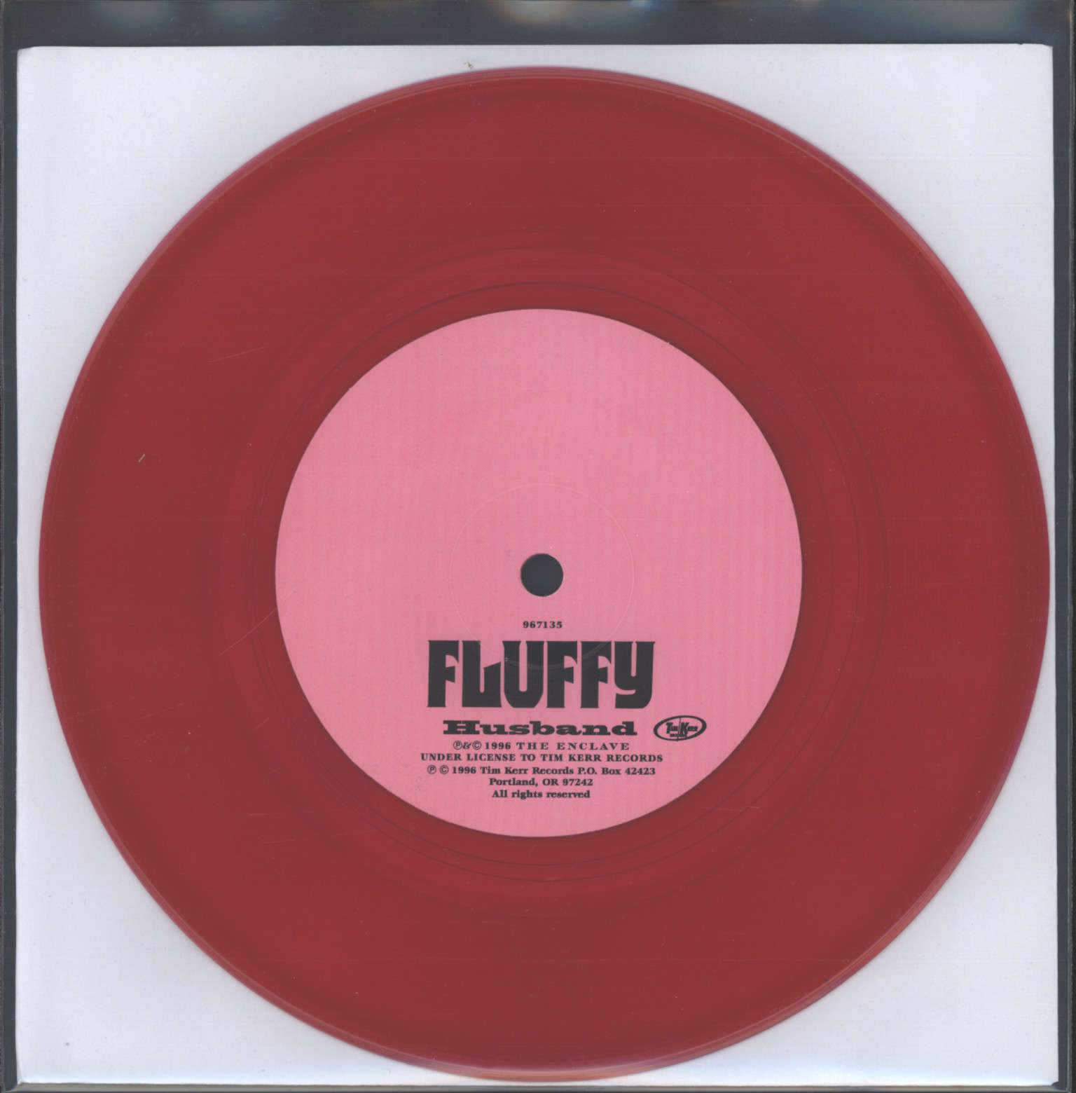 "Fluffy: Husband, 7"" Single (Vinyl)"