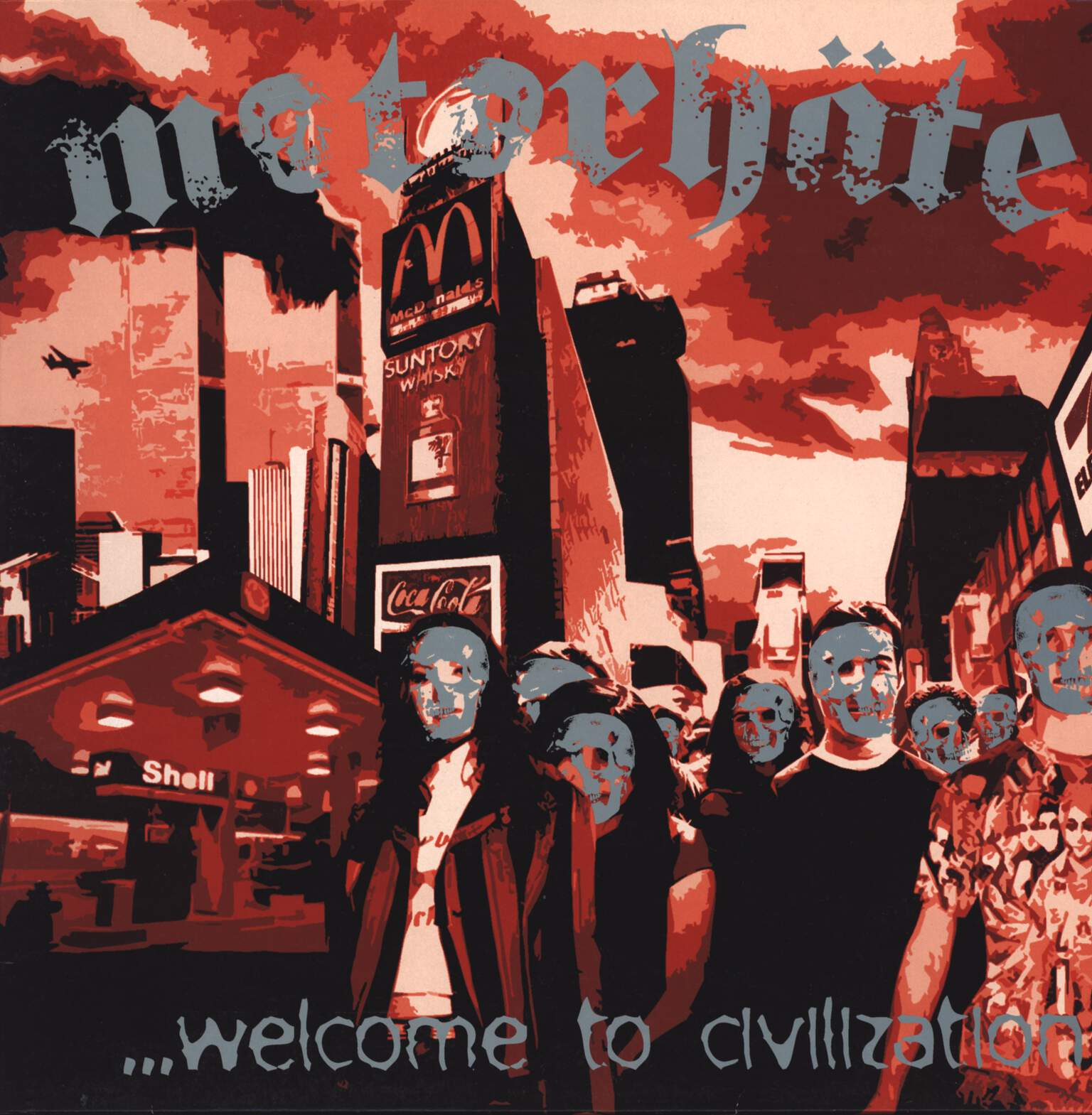 Motorhäte: ...Welcome To Civilization, LP (Vinyl)