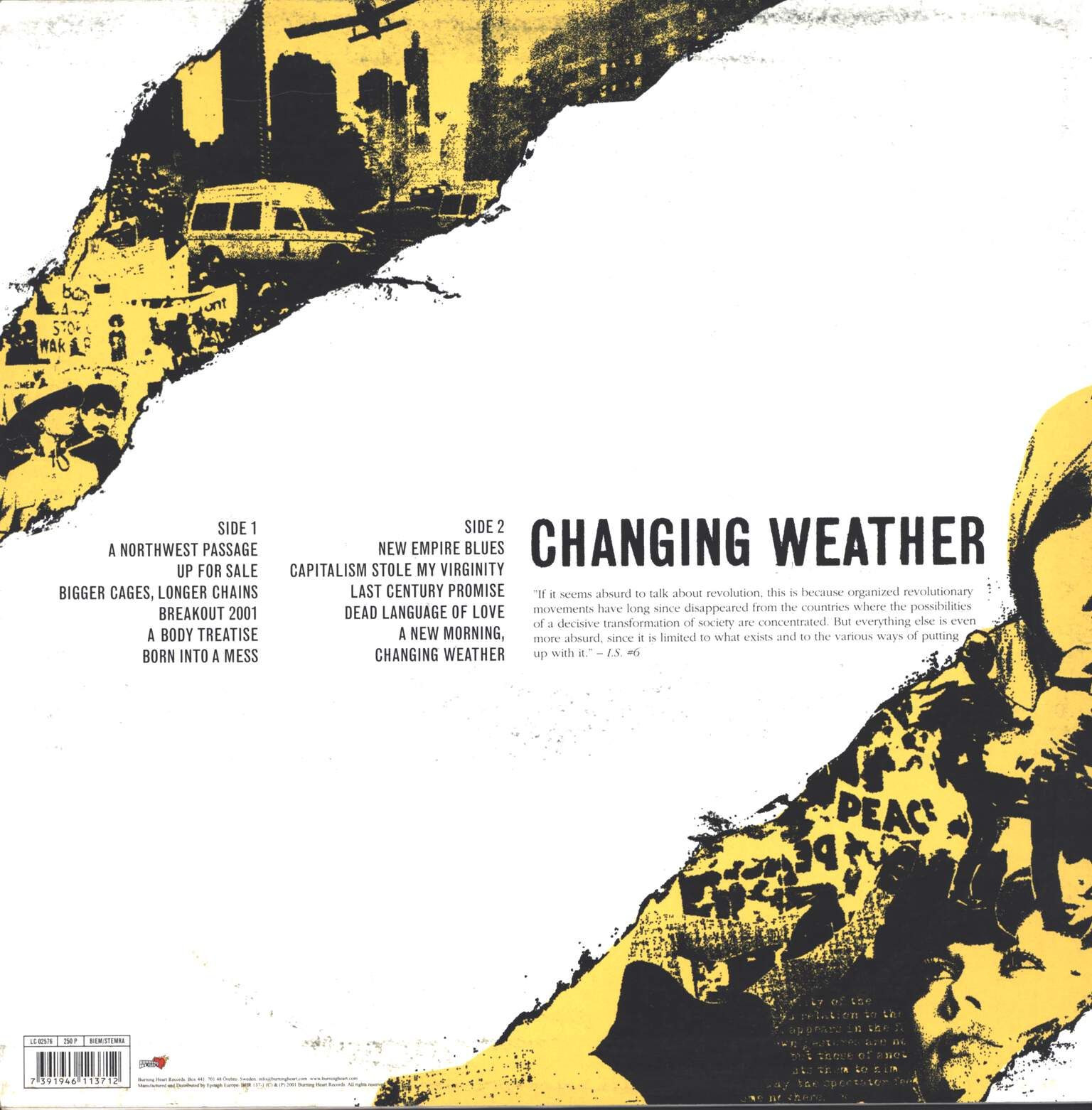 The International Noise Conspiracy: A New Morning Changing Weather, LP (Vinyl)
