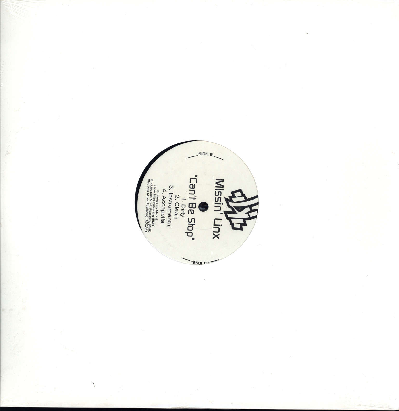 "Missin'linx: Sametime / Can't Be Stop, 12"" Maxi Single (Vinyl)"