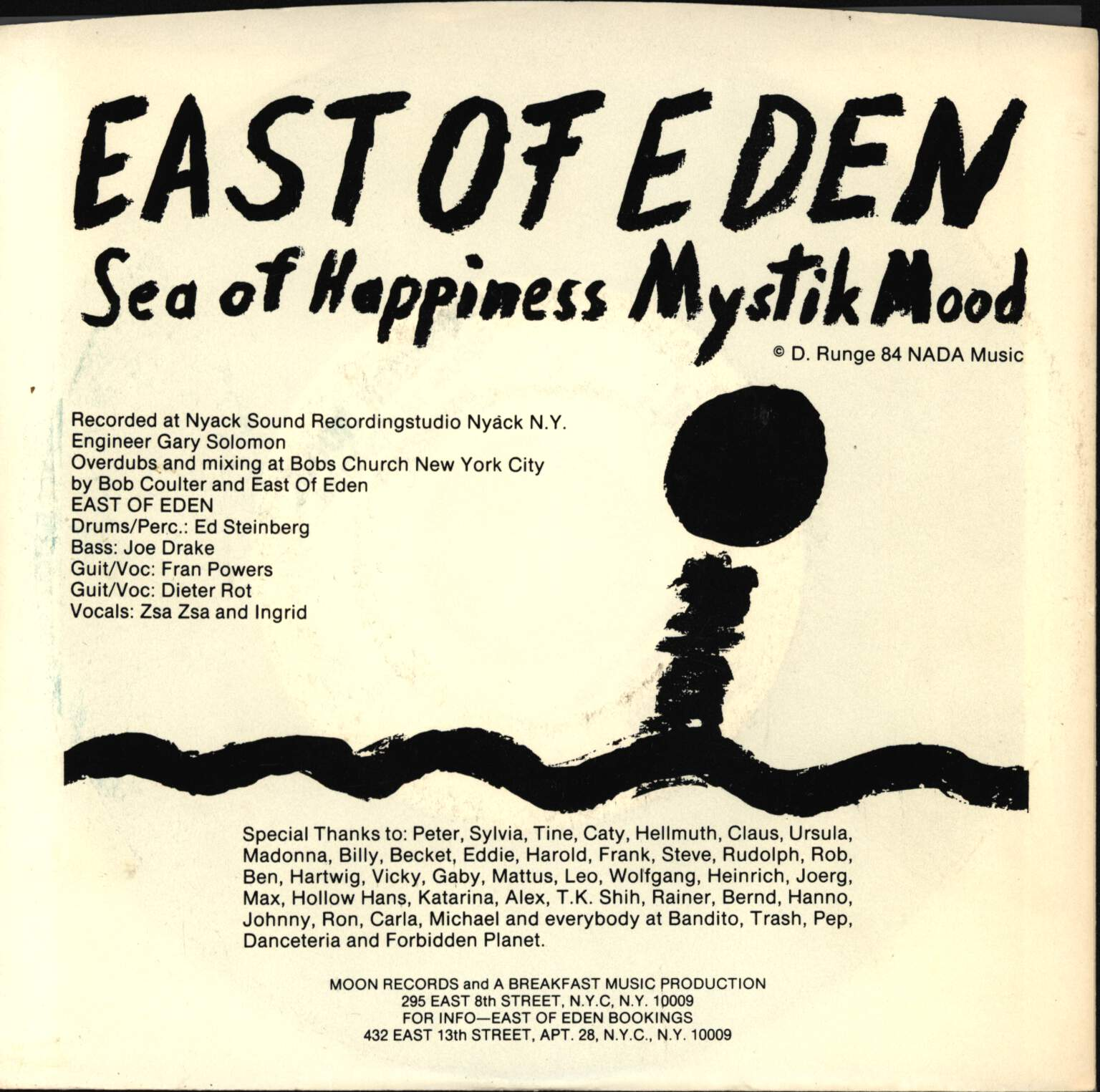 "East Of Eden: Sea Of Happiness, 7"" Single (Vinyl)"