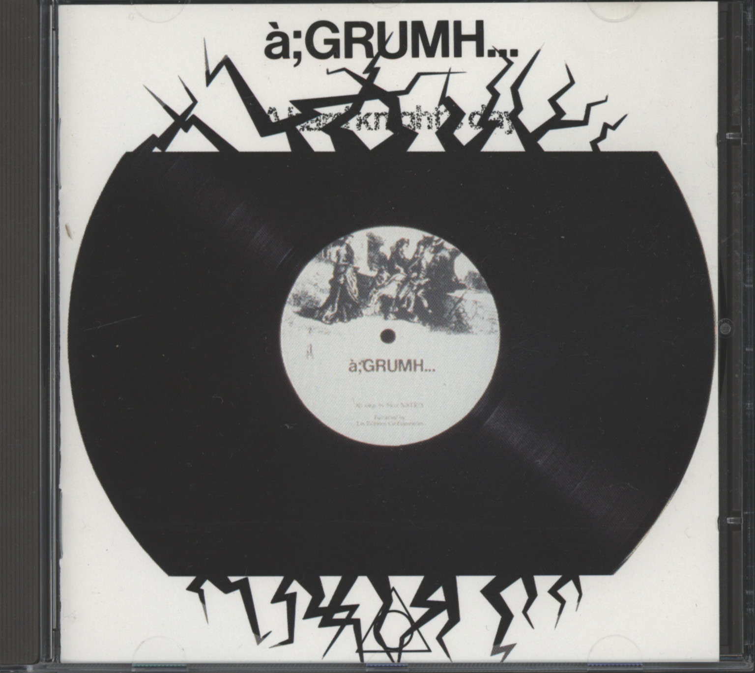 à;GRUMH…: A Hard Knight's Day, CD