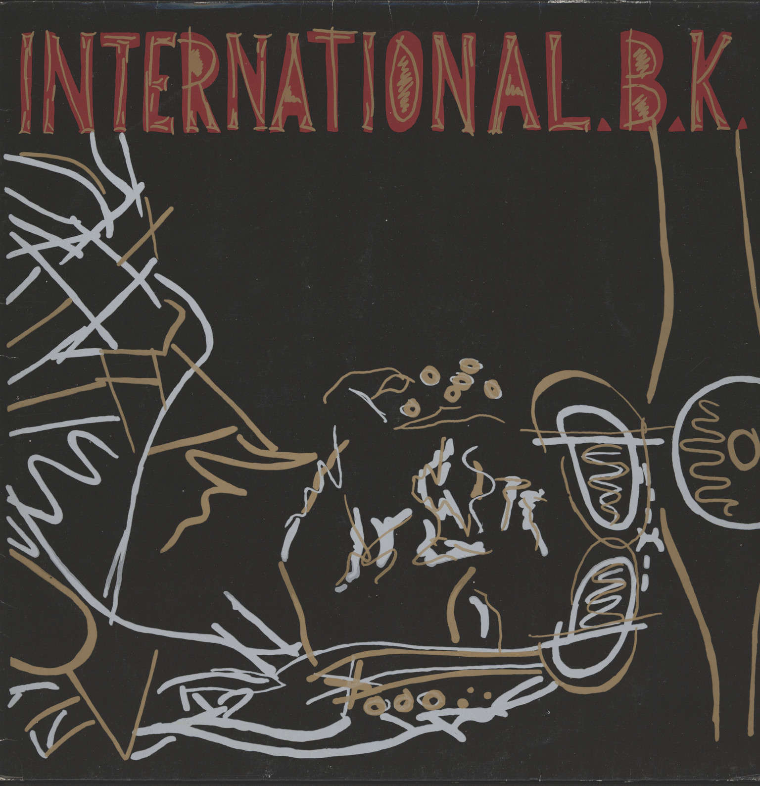 "International Bk: Fucking Bastards, 12"" Maxi Single (Vinyl)"