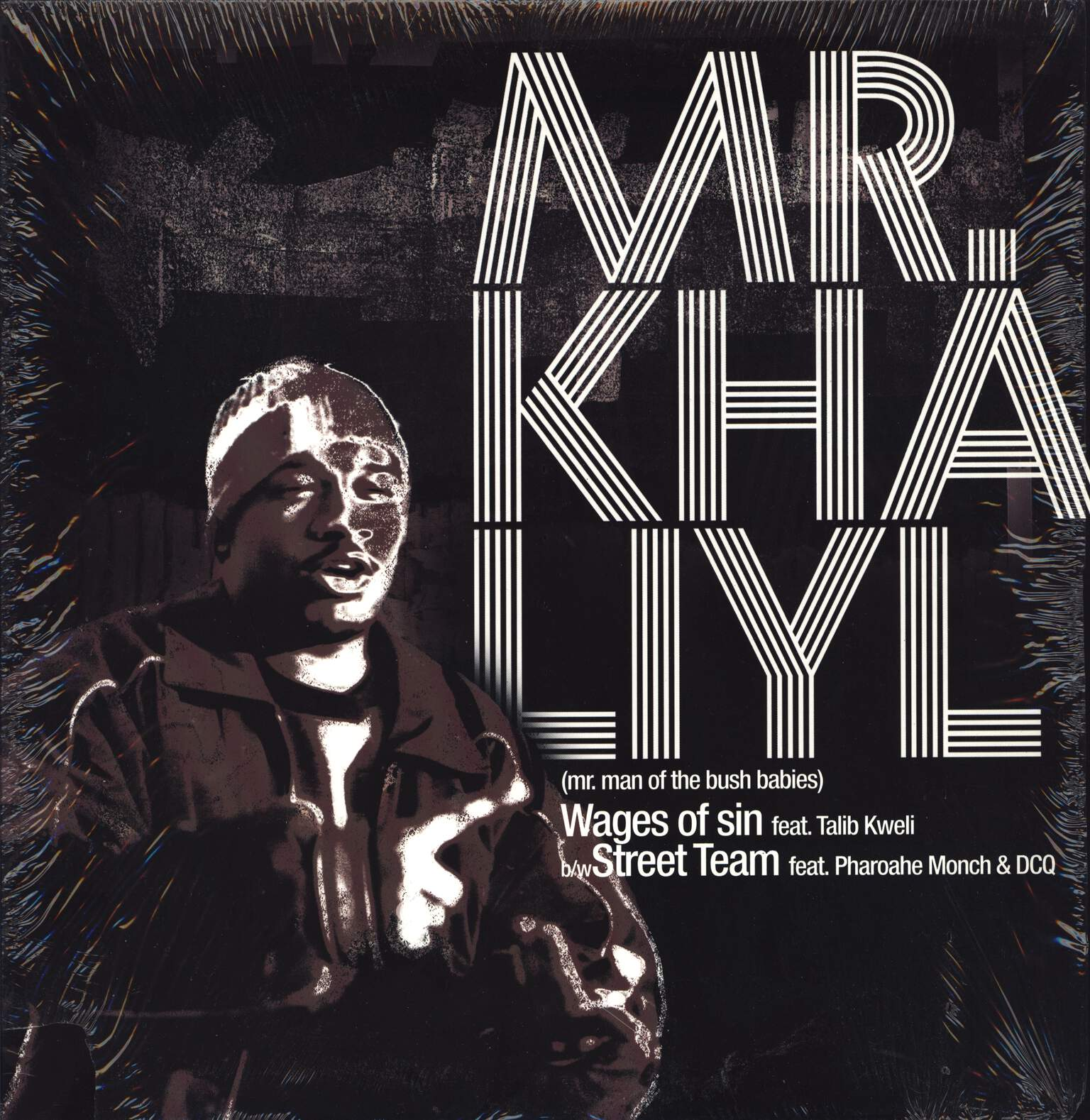 "Mr Khaliyl: Wages Of Sin / Street Team, 12"" Maxi Single (Vinyl)"