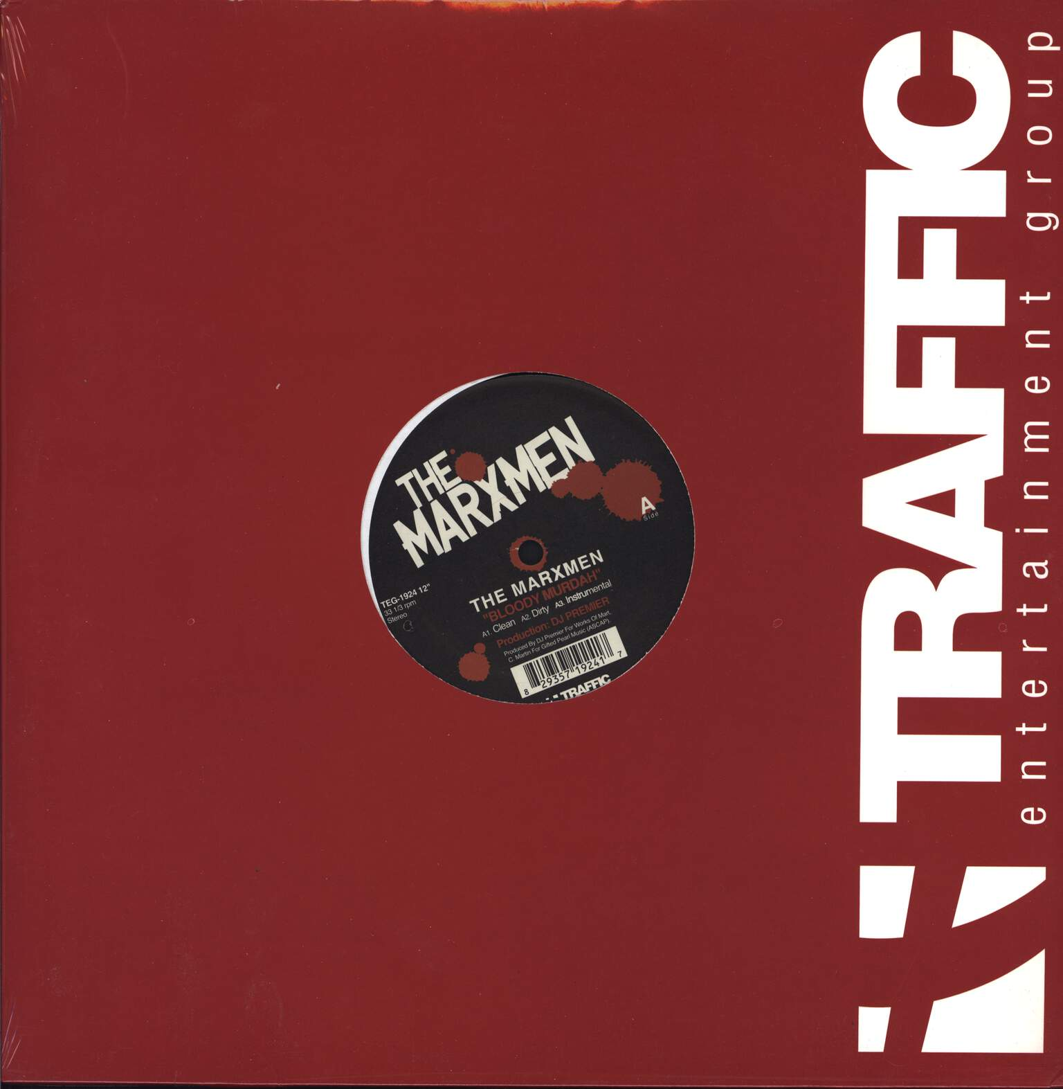 "The Marxmen: Bloody Murdah / Nine & Two Clips, 12"" Maxi Single (Vinyl)"