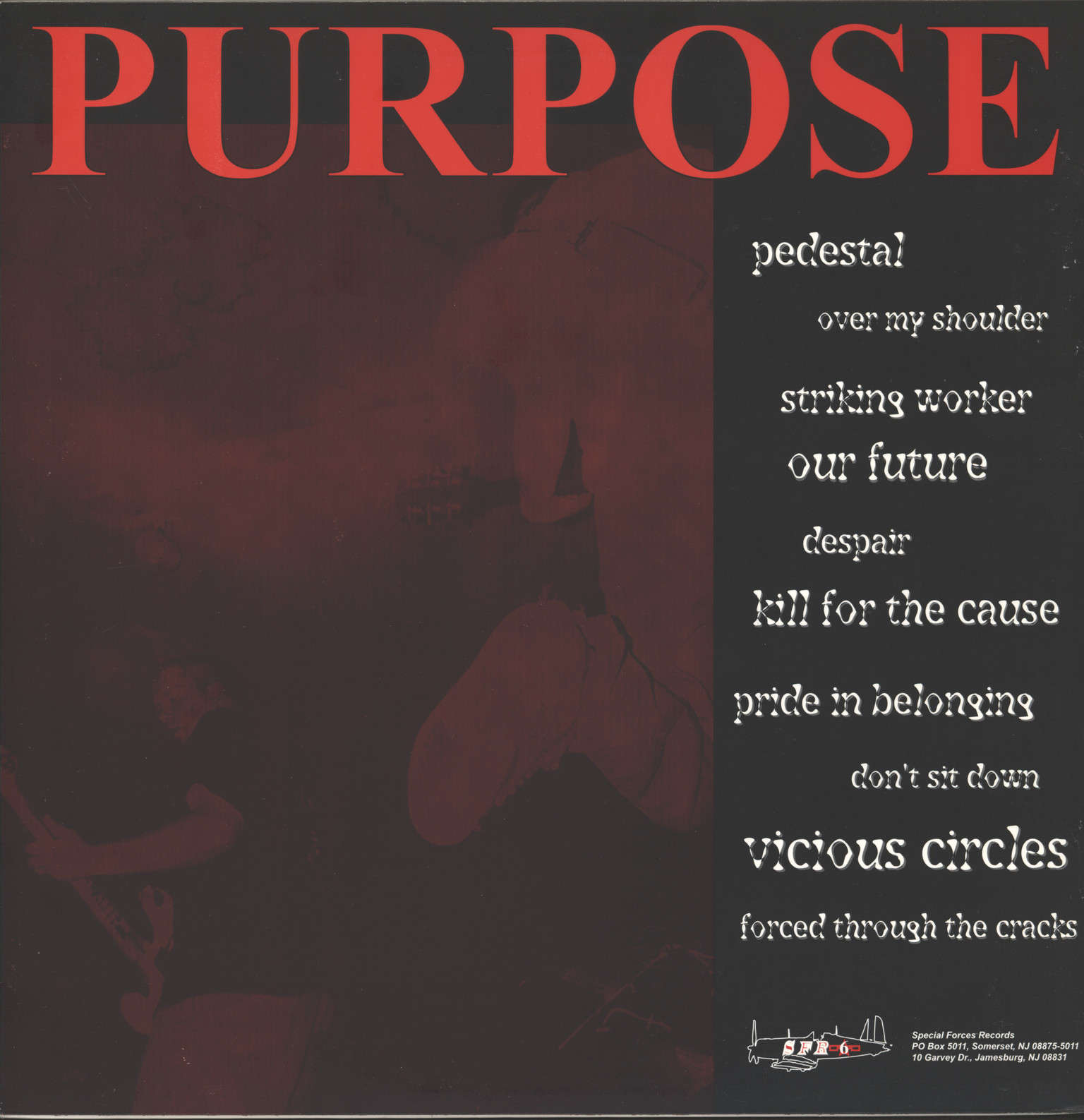 Purpose: Alpha And Omega, LP (Vinyl)