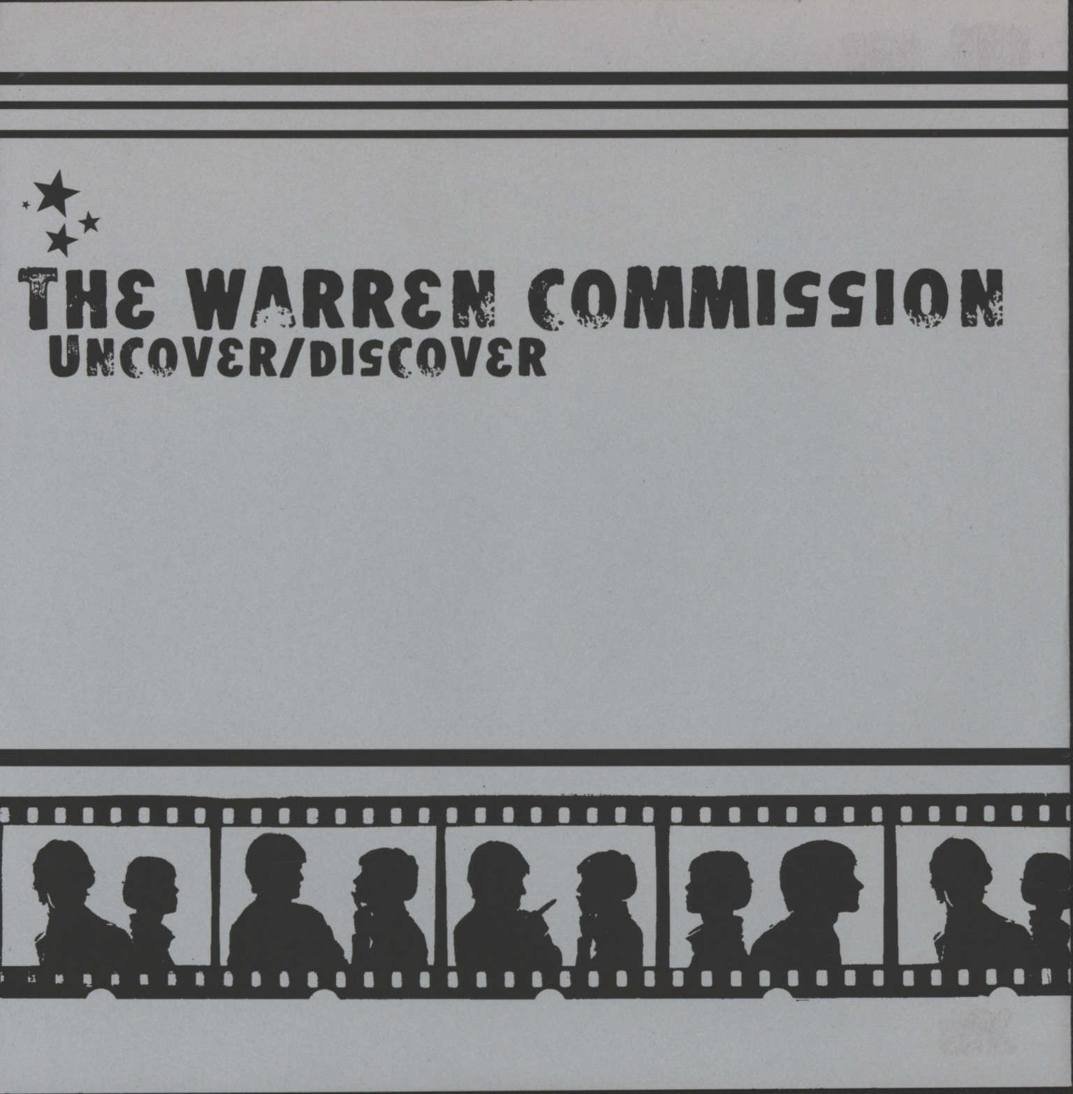"Warren Commission: Uncover/Discover, 7"" Single (Vinyl)"