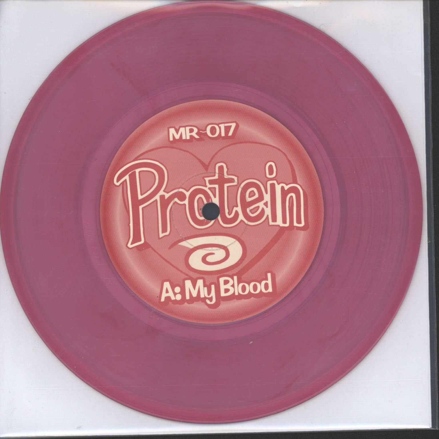 "Protein: My Blood / Refrigerator, 7"" Single (Vinyl)"