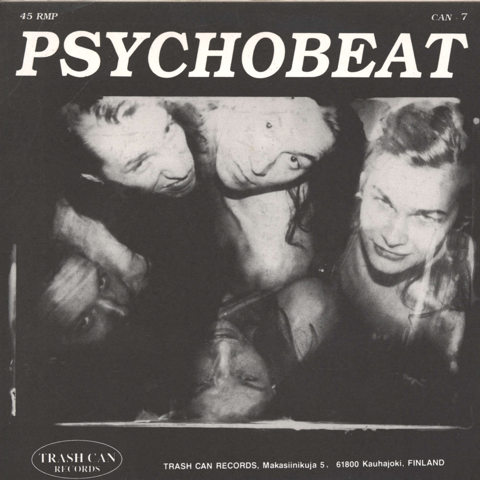 "Jack Meatbeat and the Underground Society: Psychobeat, 7"" Single (Vinyl)"