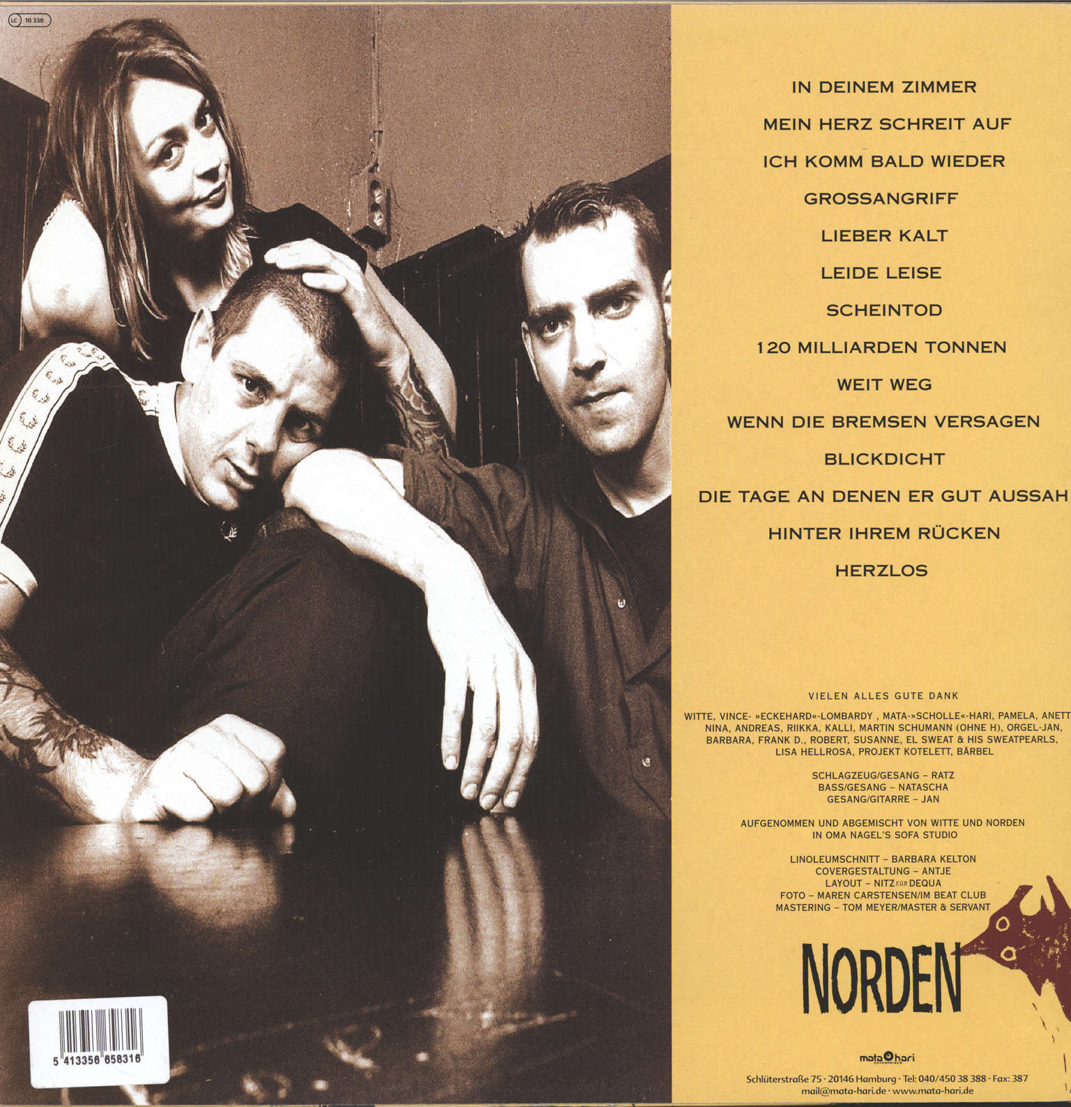 Norden: Untitled, LP (Vinyl)