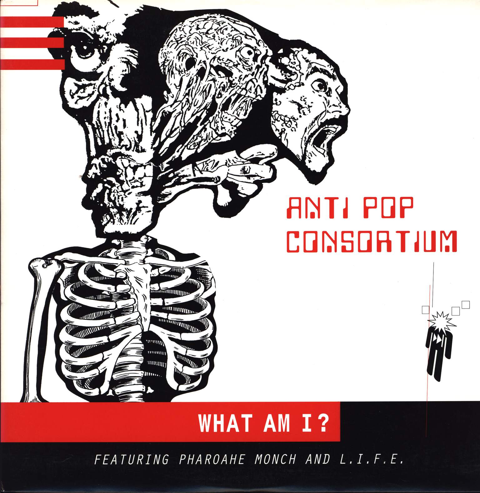"Antipop Consortium: What Am I?, 12"" Maxi Single (Vinyl)"