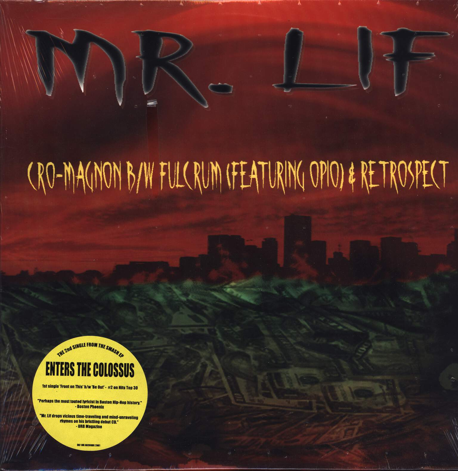 "Mr Lif: Cro-Magnon, 12"" Maxi Single (Vinyl)"