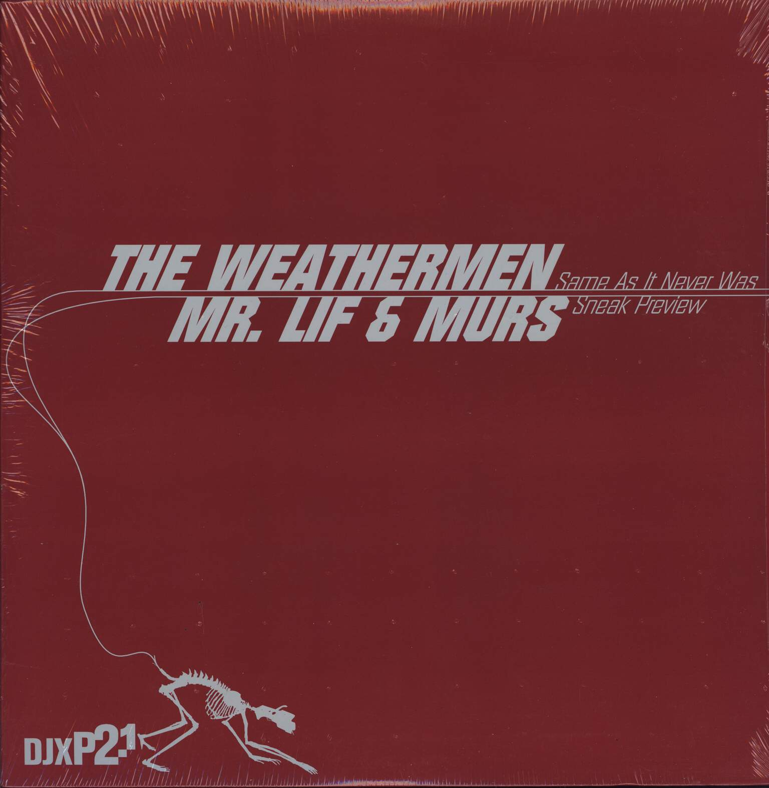 "The Weathermen: Same As It Never Was / Sneak Preview, 12"" Maxi Single (Vinyl)"