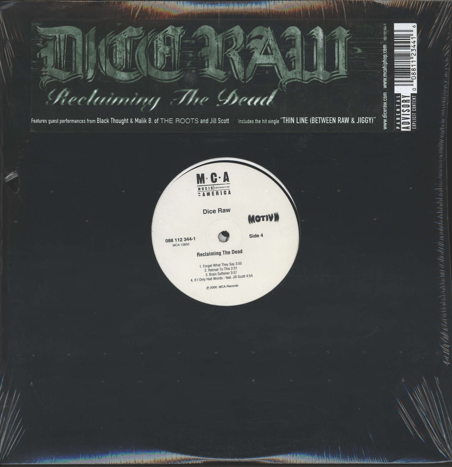 Dice Raw: Reclaiming The Dead, LP (Vinyl)
