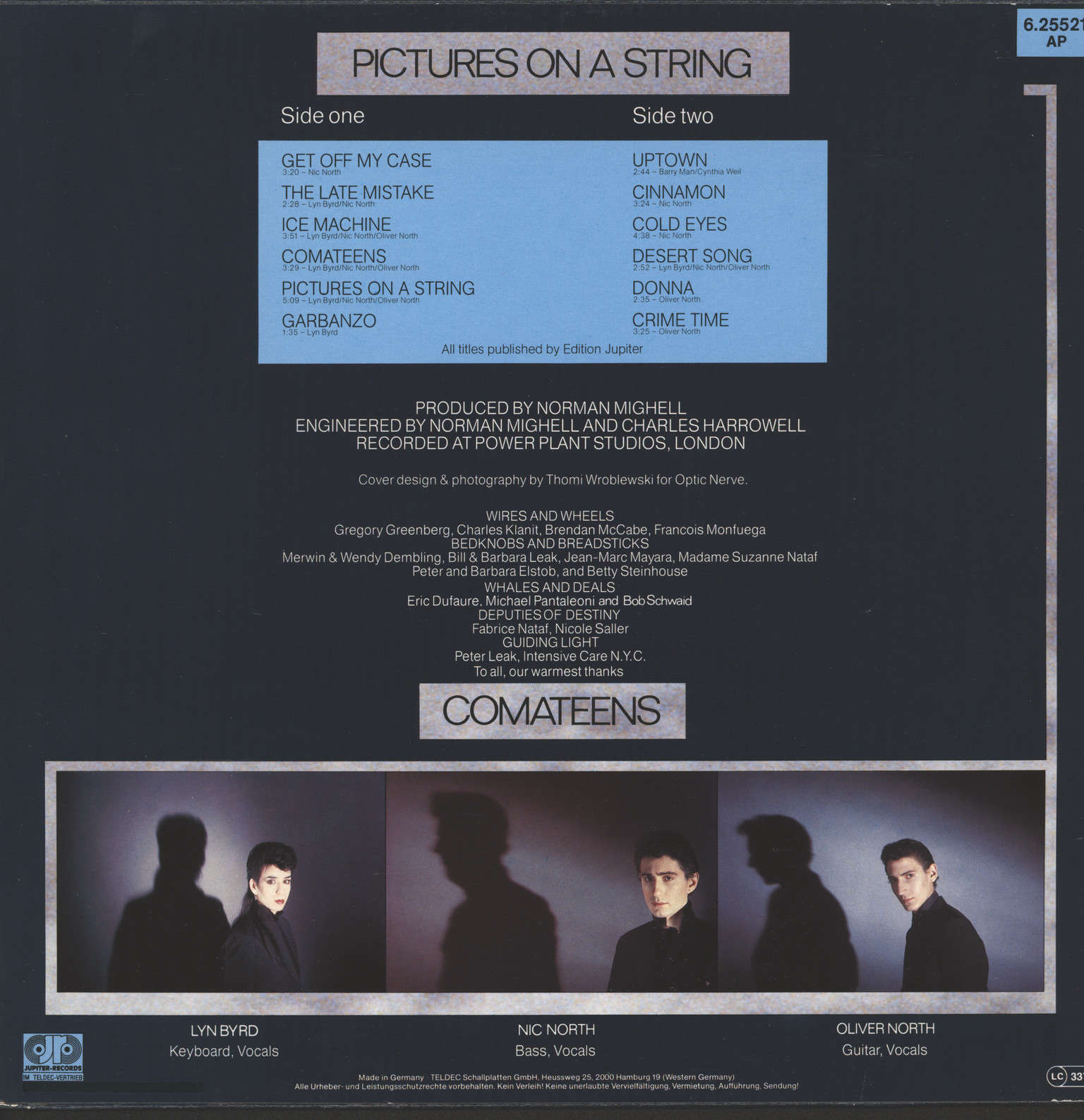 Comateens: Pictures On A String, LP (Vinyl)