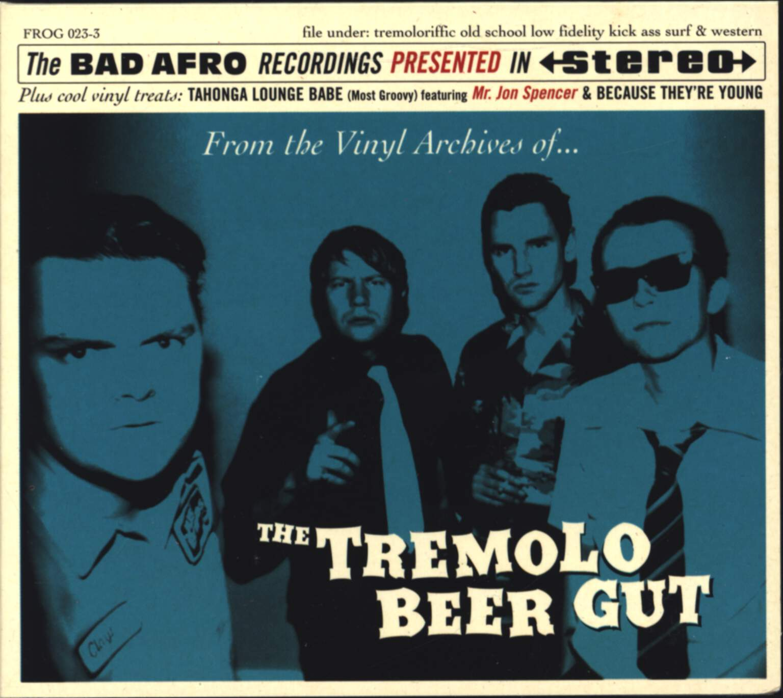 The Tremolo Beer Gut: From The Vinyl Archives Of..., Mini CD