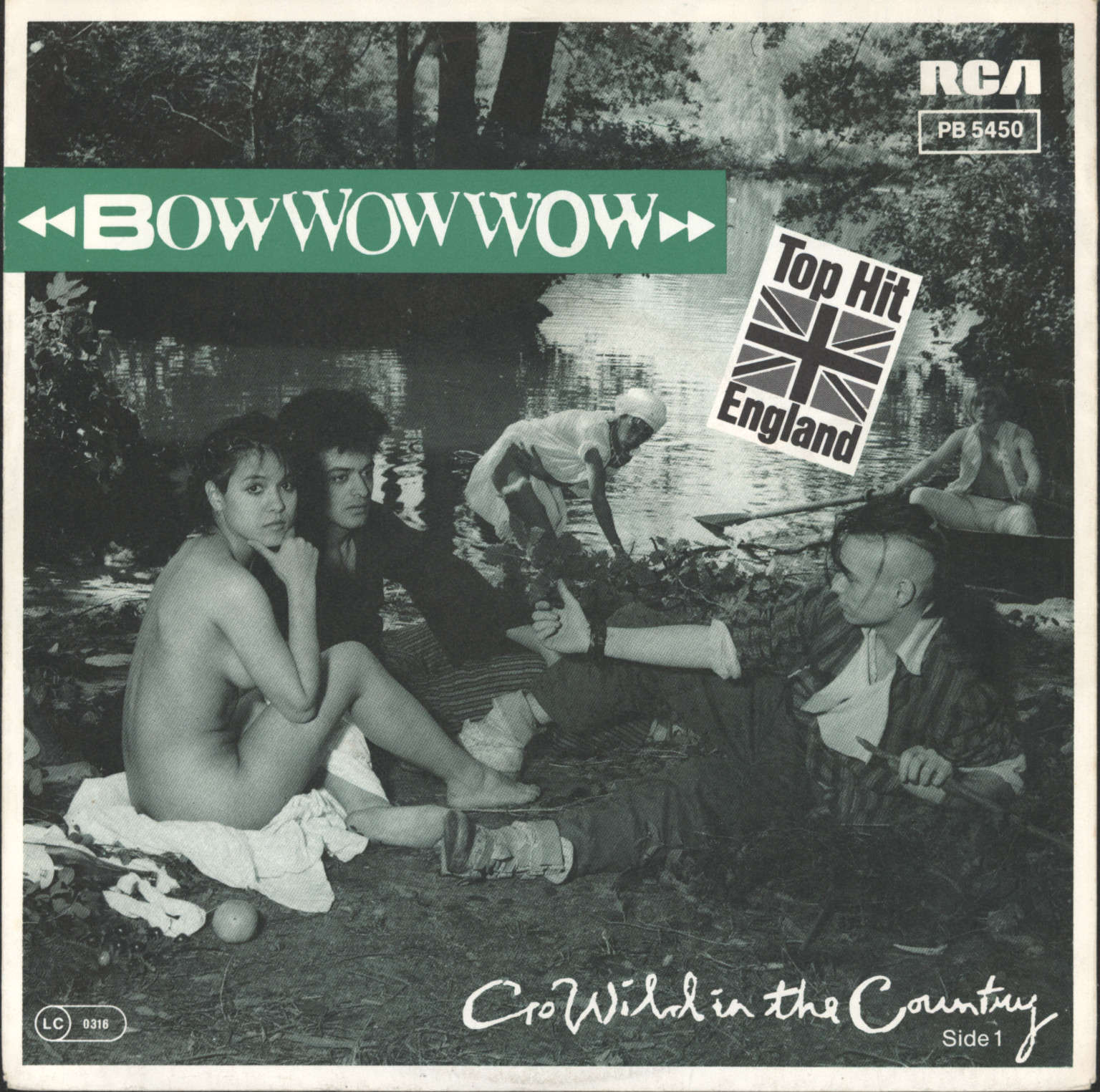 "Bow Wow Wow: Go Wild In The Country / El Boss Dicho!, 7"" Single (Vinyl)"