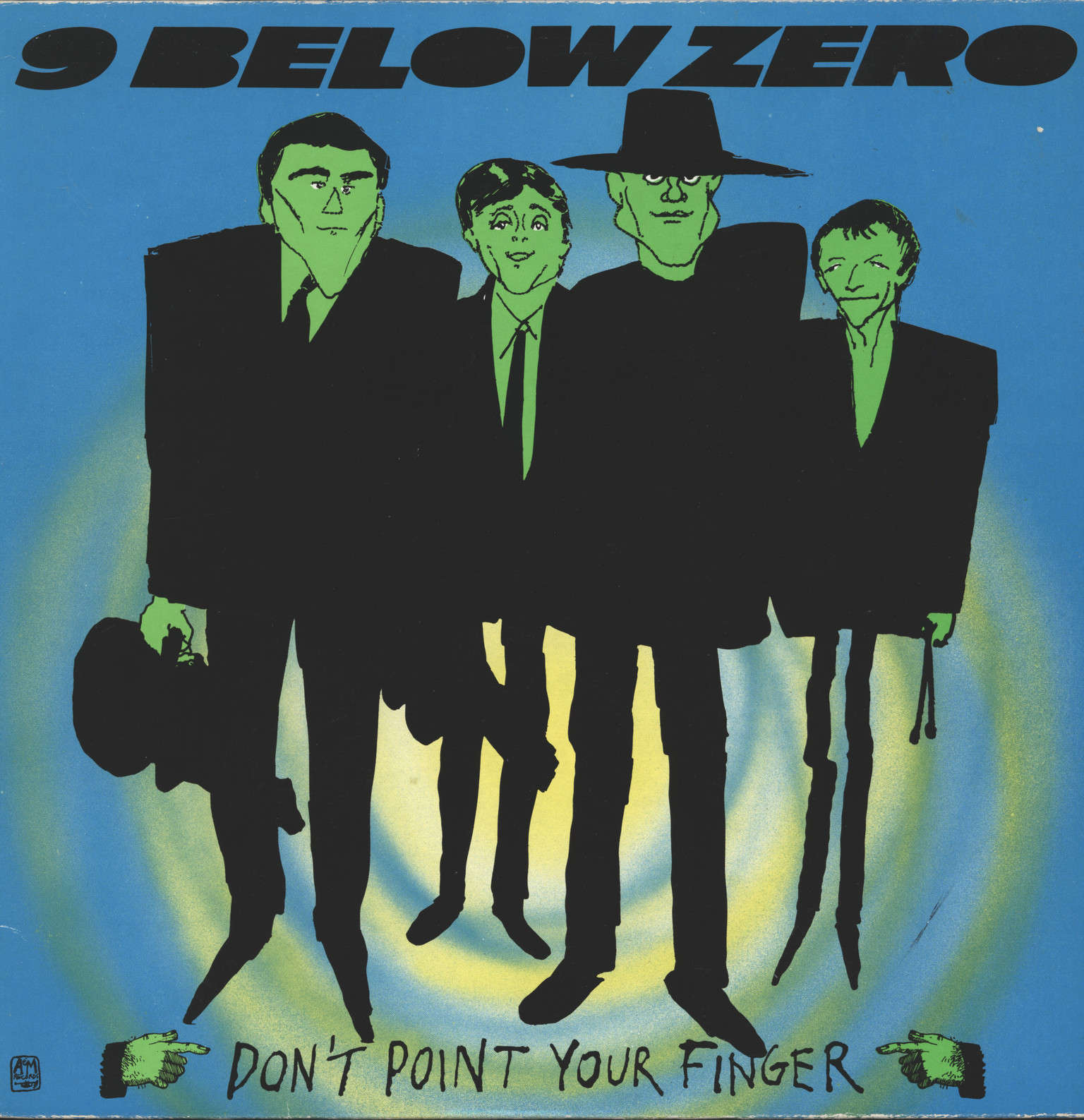 Nine Below Zero: Don't Point Your Finger, LP (Vinyl)