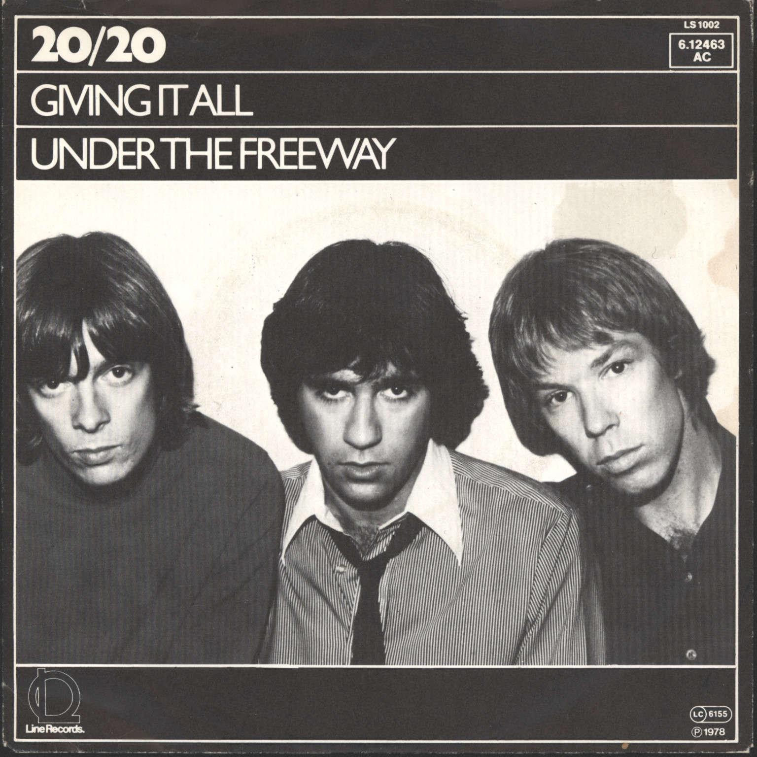 "20/20: Giving It All / Under The Freeway, 7"" Single (Vinyl)"