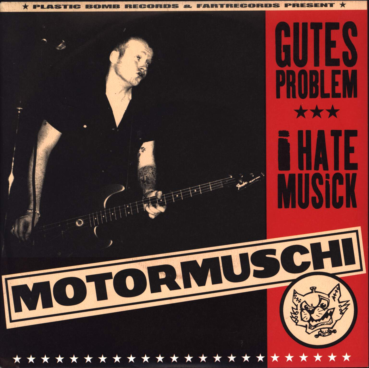"Motormuschi: Gutes Problem/I Hate Musick, 7"" Single (Vinyl)"